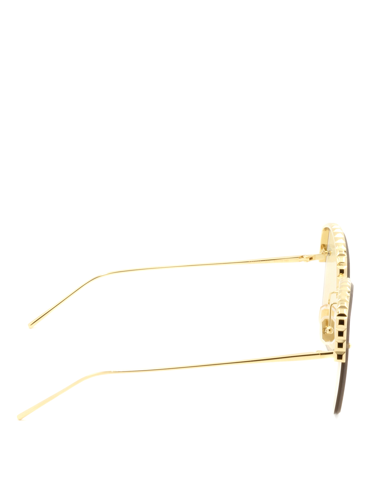 Half-frame yellow lenses sunglasses by Boucheron - sunglasses | Shop ...