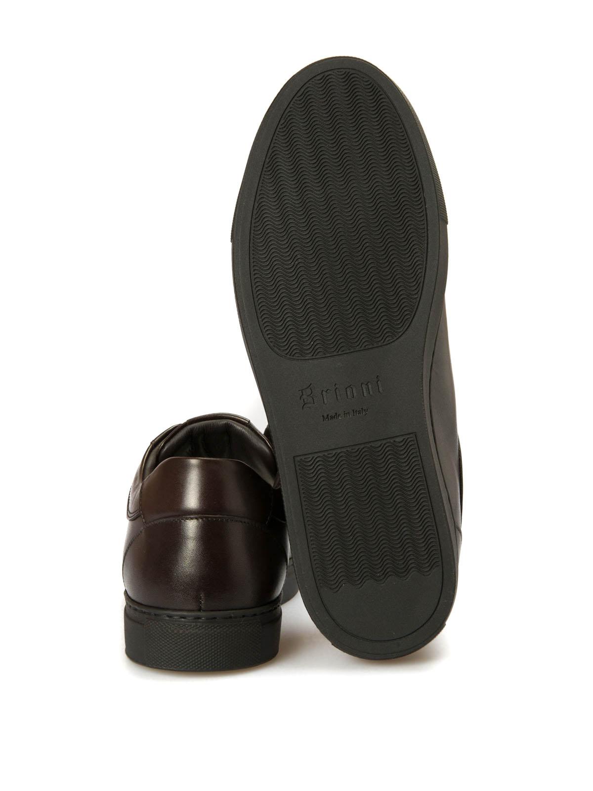 Brioni Sneaker Braun Sneaker QHFU0LO67182000