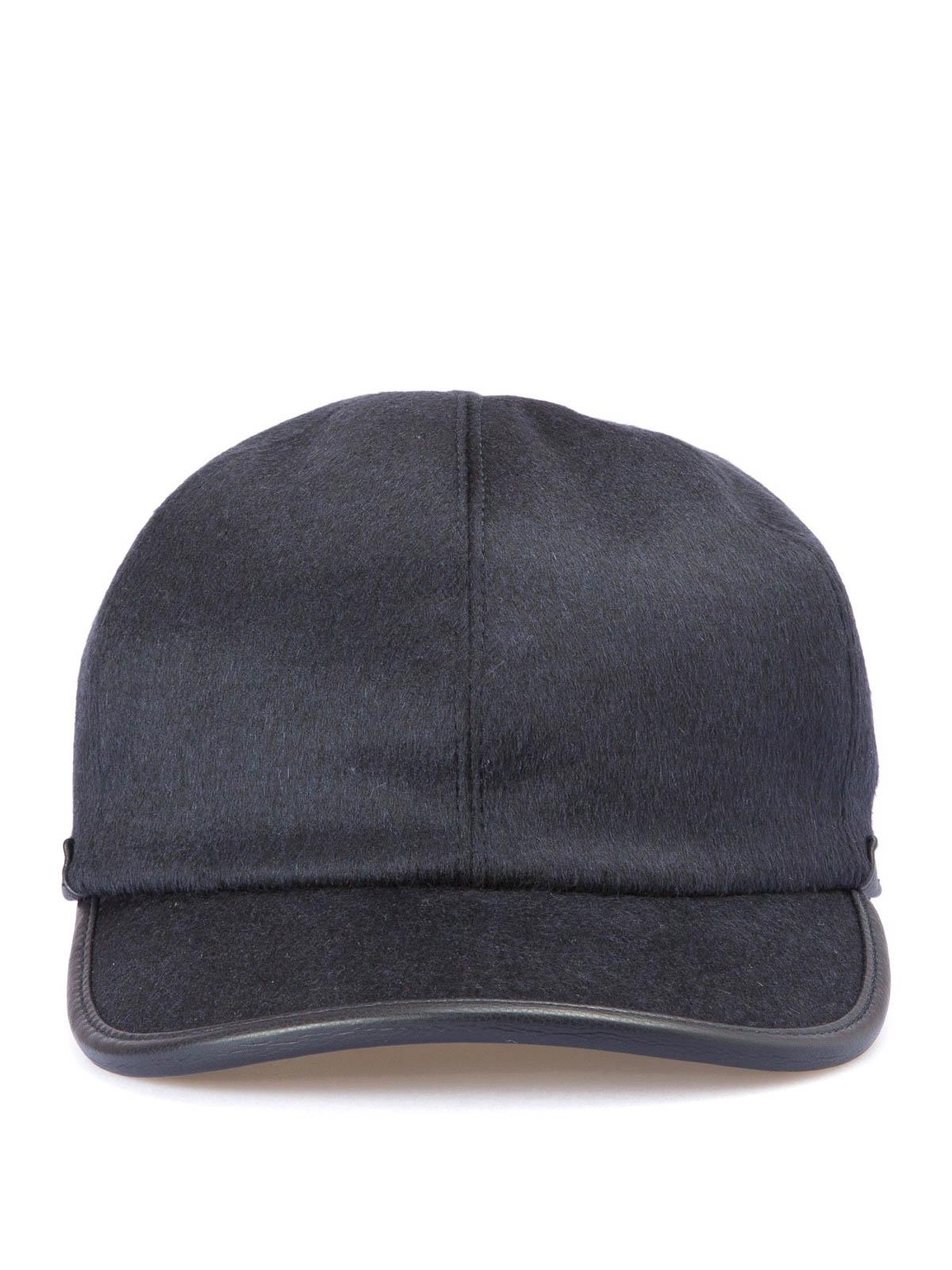 aedcac9954c Brioni - Wool blend baseball cap - hats   caps - O4440M O3AR6 4100