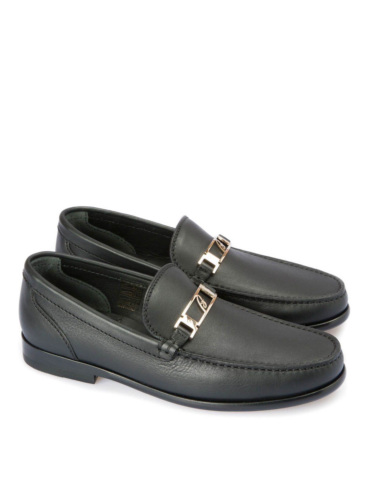 65bbb5a311d621 Brioni - Leather loafers - Loafers   Slippers - QYL70Q P5718 1000
