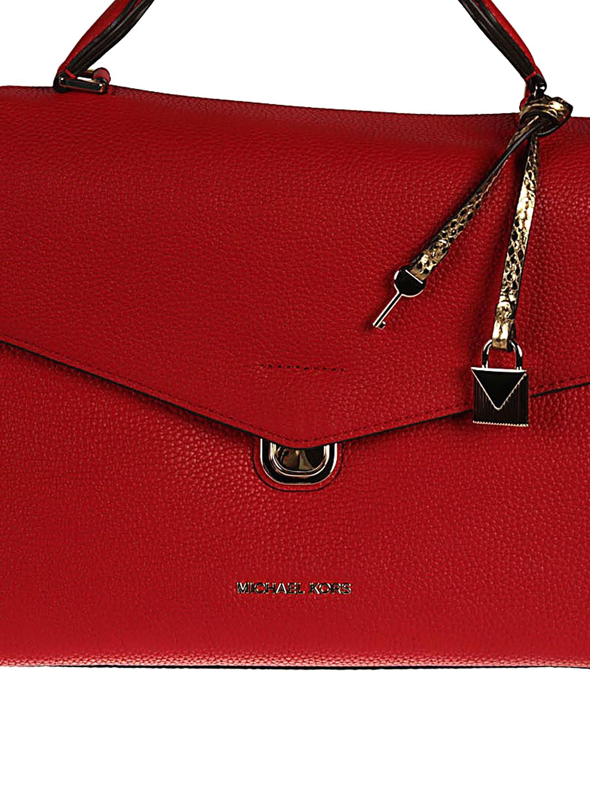 6d58b771136e Michael Kors - Bristol leather bag - bowling bags - 30H7GZKS5L 204