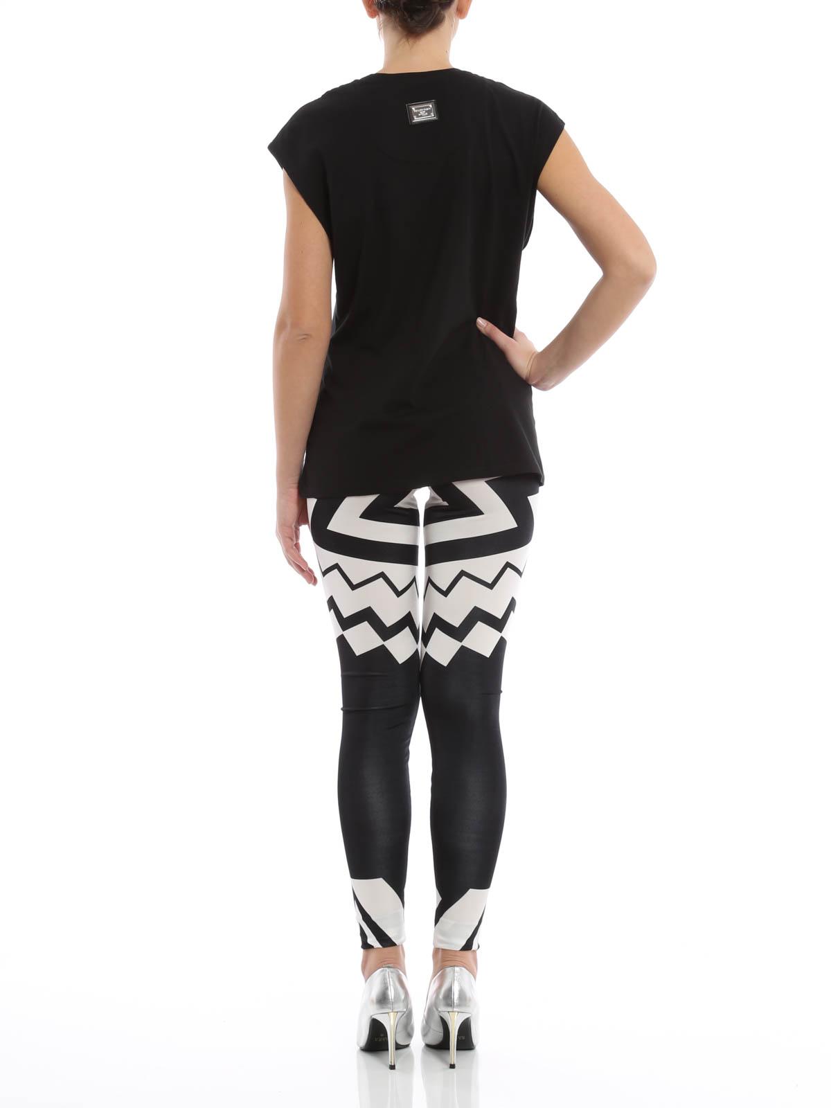 t shirt brooklyn in cotone philipp plein t shirt ikrix shop online cw345007 02. Black Bedroom Furniture Sets. Home Design Ideas