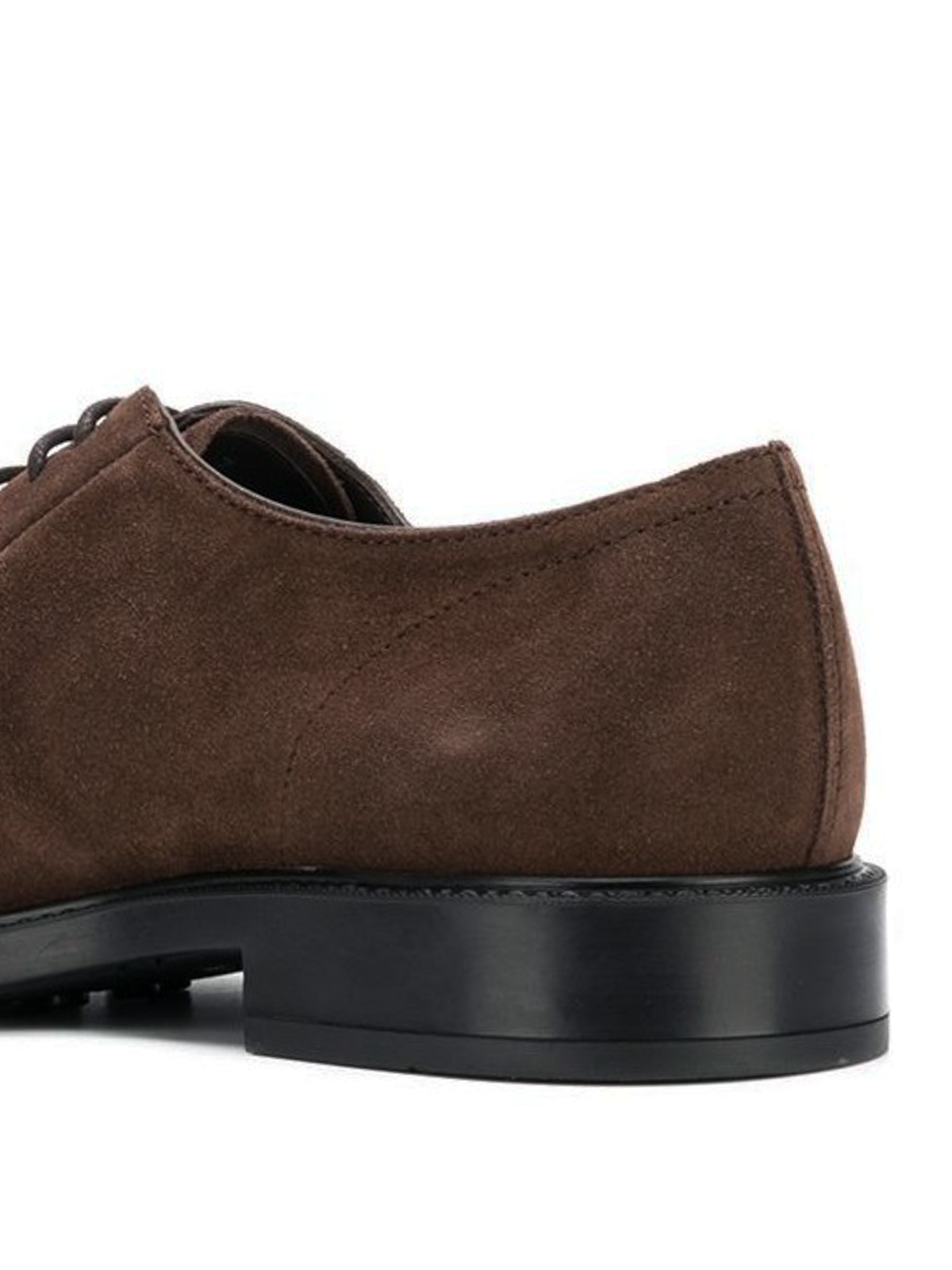 935462d7d2c100 Tod'S - Derby stringate in camoscio marrone - scarpe stringate ...