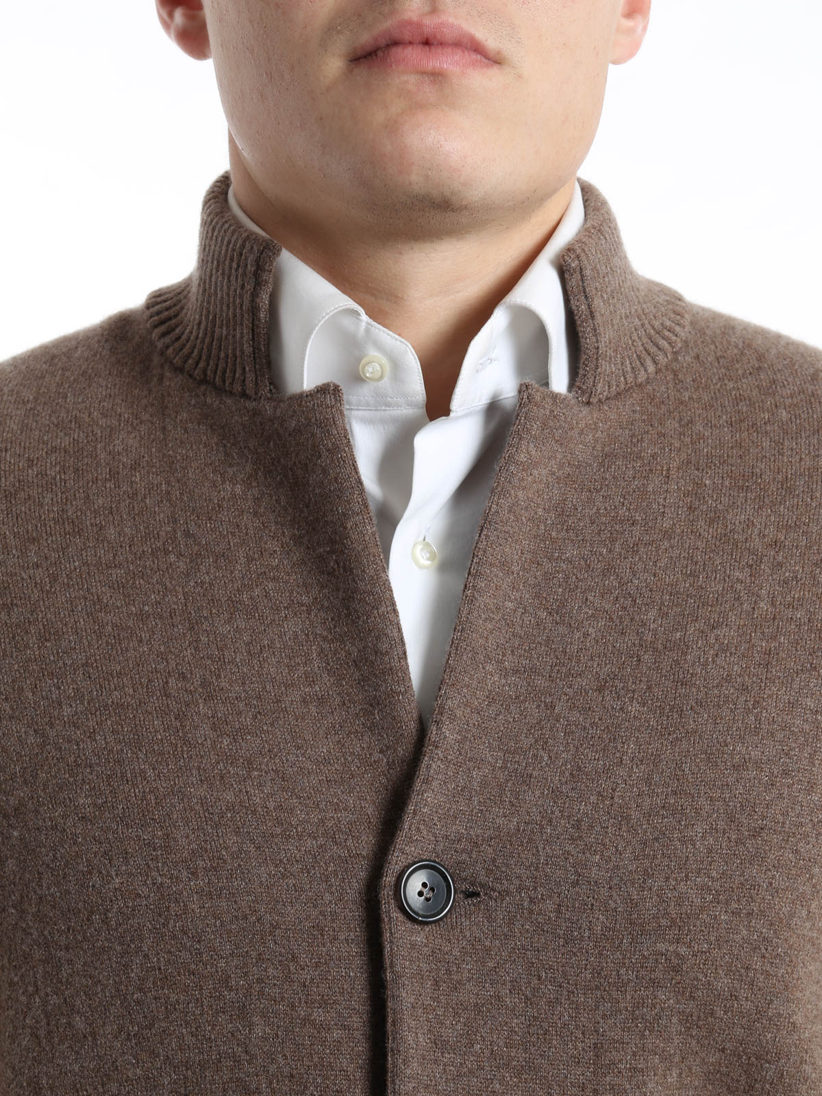 Cashmere cardigan by Brunello Cucinelli - cardigans | iKRIX