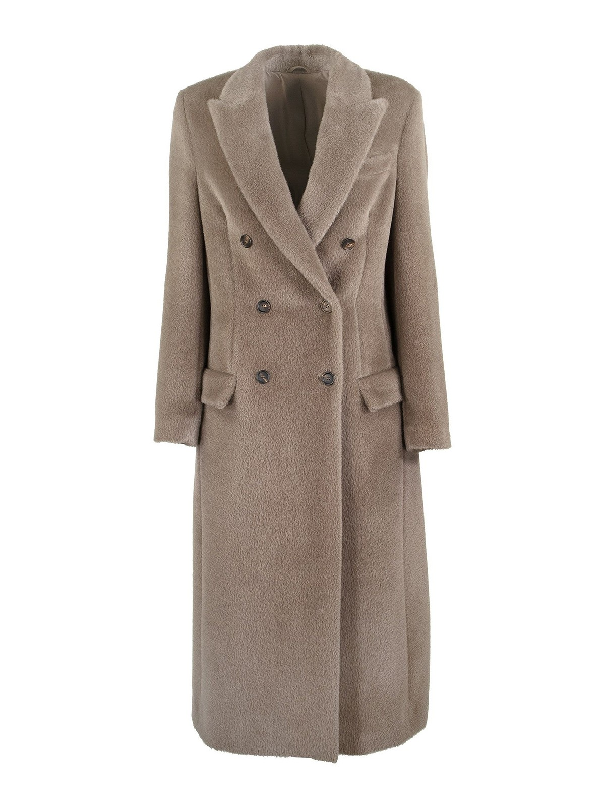 Brunello Cucinelli WOOL ALPACA BLEND COAT