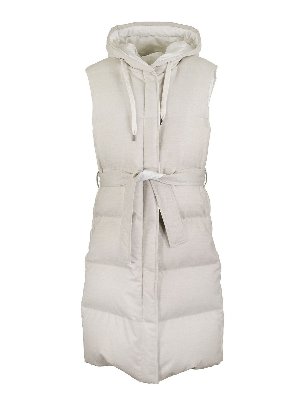 Brunello Cucinelli QUILTED REVERSIBLE PADDED VEST