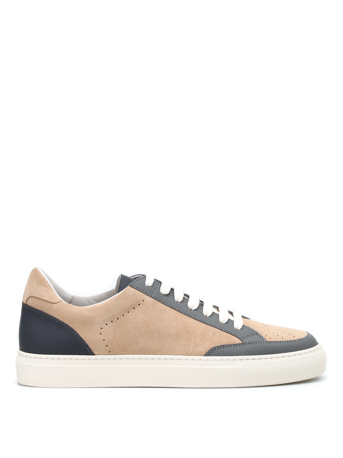 Brunello Cucinelli Leather Low Trainers