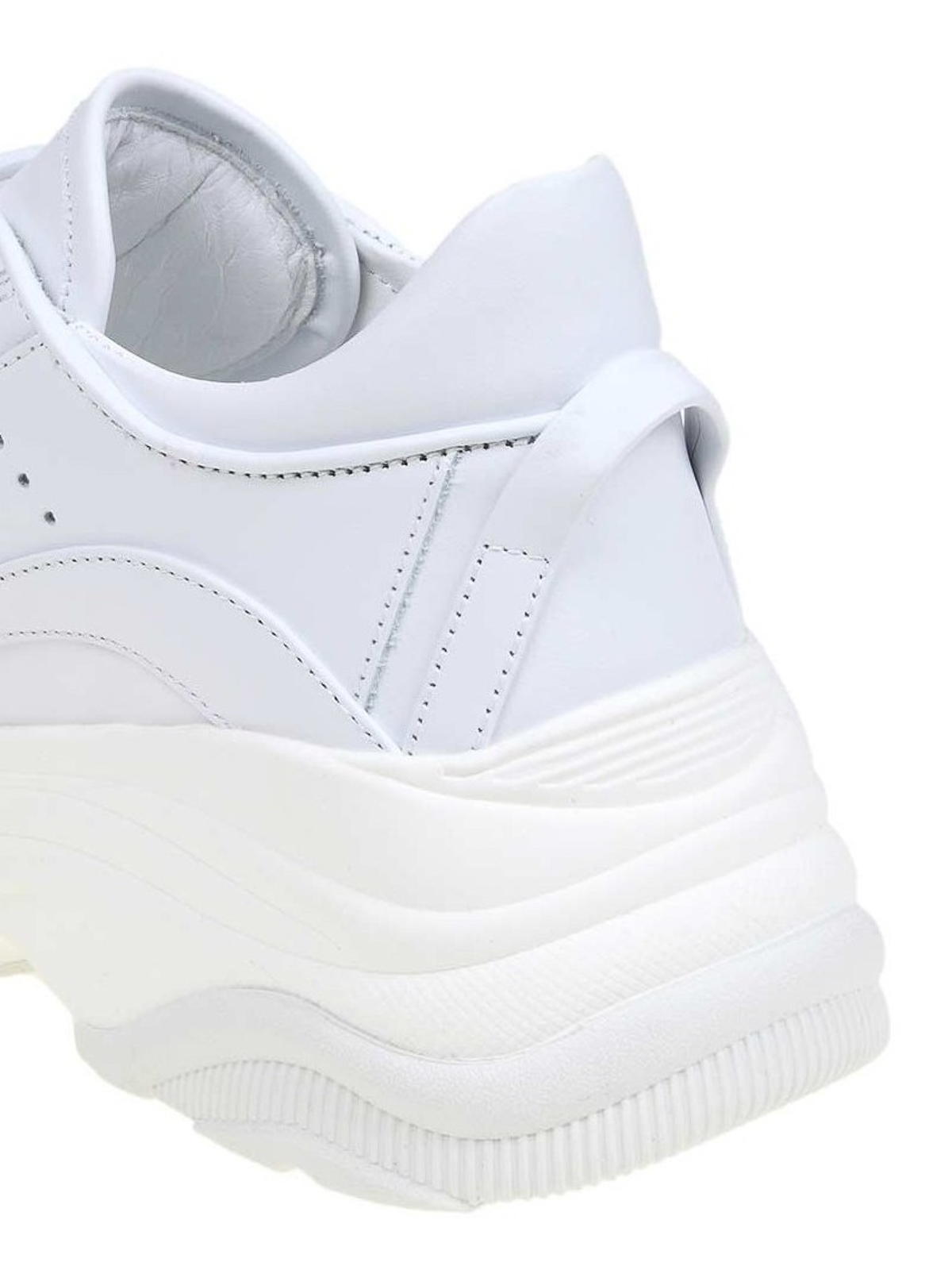 58beeb8a48c Dsquared2 - Bumpy 551 white sneakers - trainers - SNW004106500001M1048