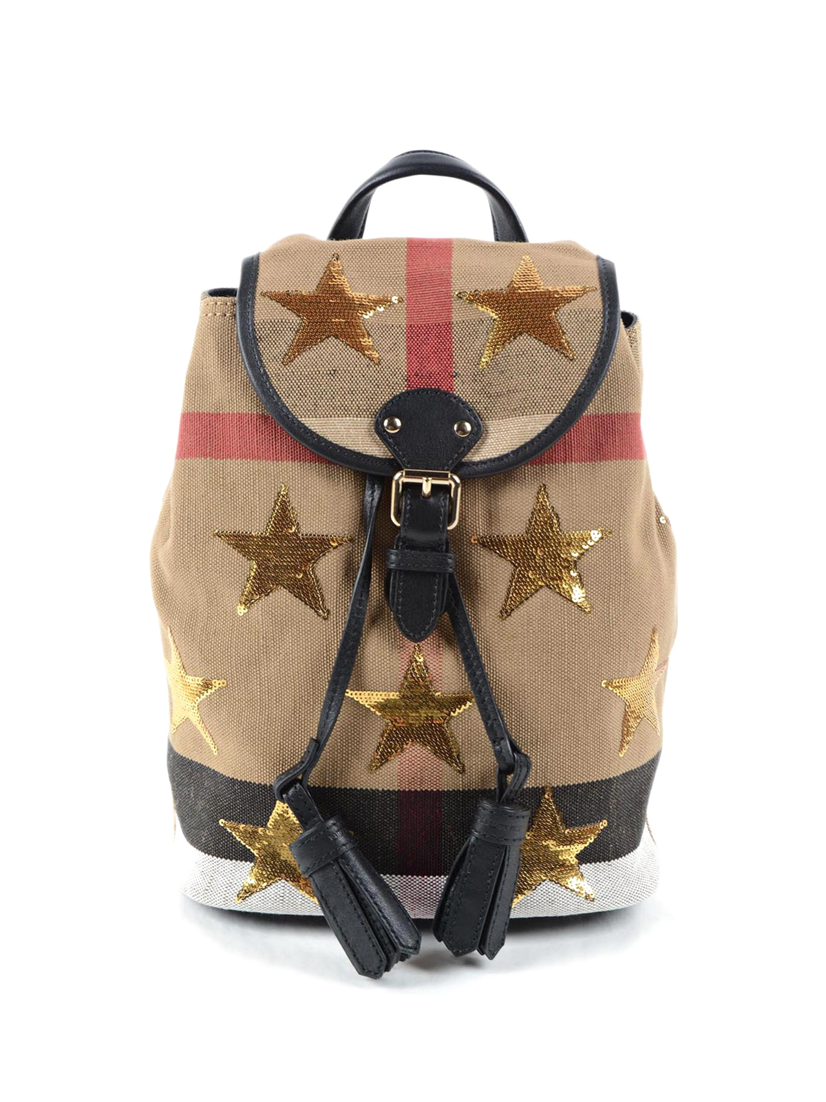 b35a41dc7835 Burberry - Check canvas mini backpack - backpacks - 40363381