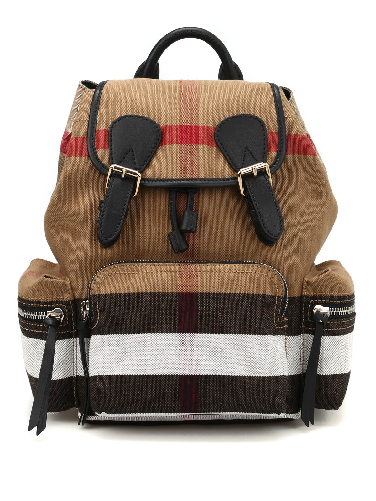 The Rucksack medium canvas backpack by Burberry ...