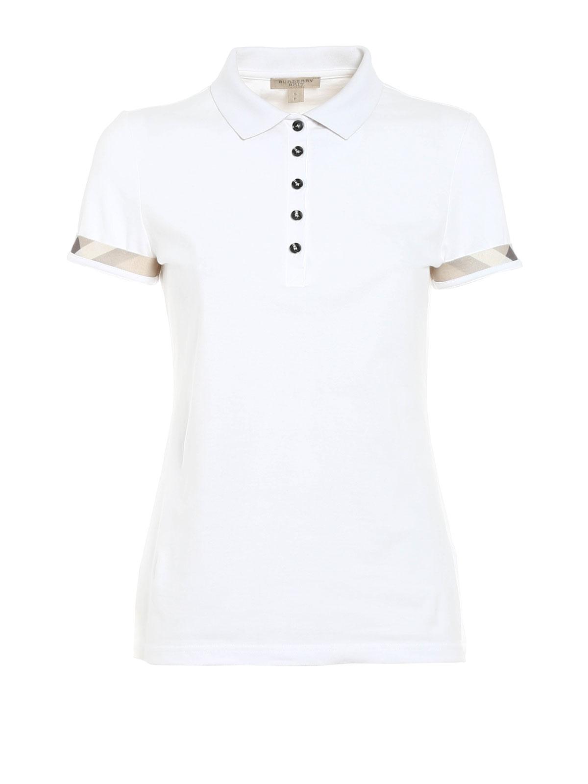Burberry Brit - Pique classic polo - polo shirts - 4001660   iKRIX.com 7b9e857ef72