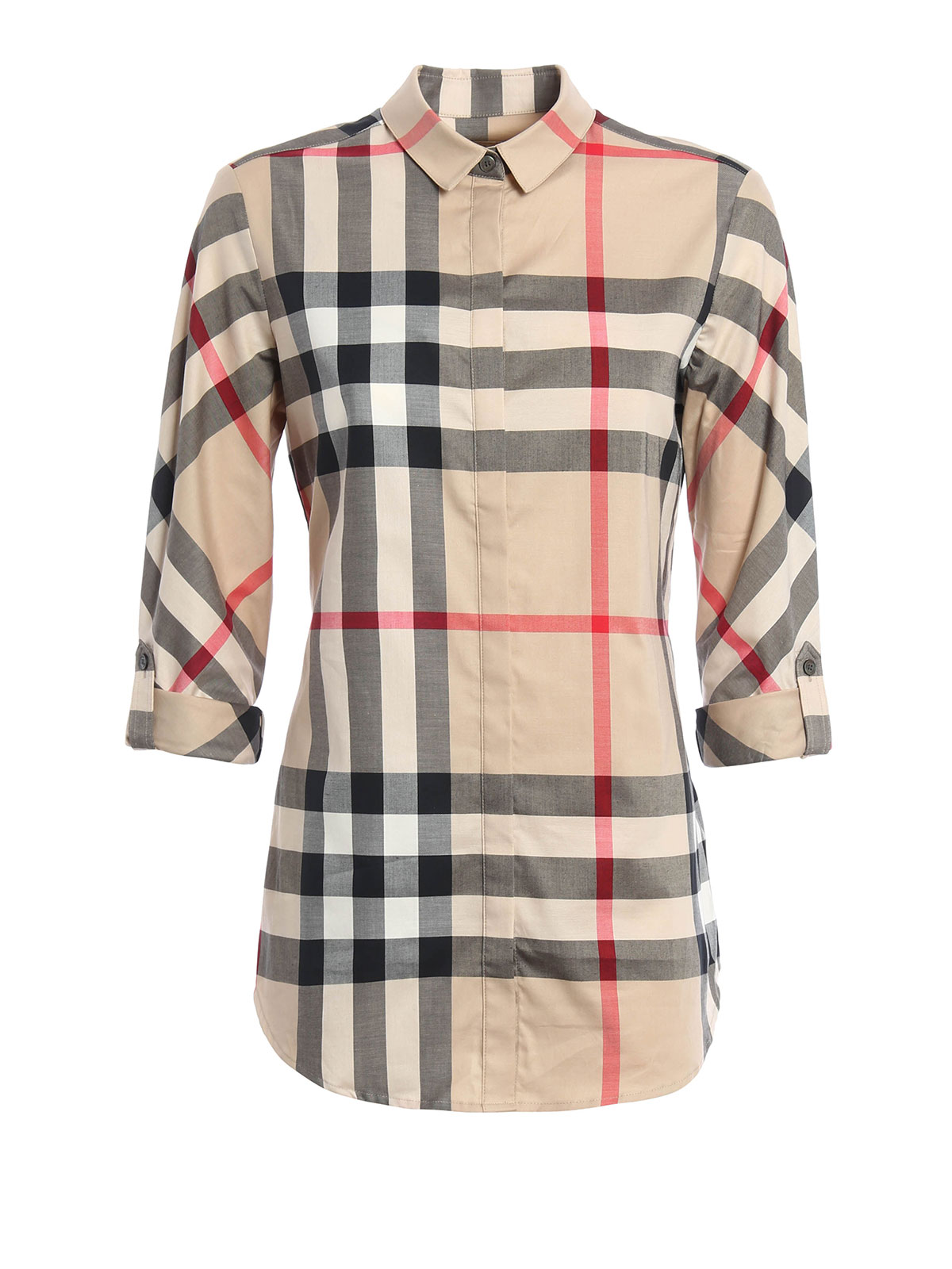 Check shirt by burberry brit shirts ikrix for Burberry brit checked shirt