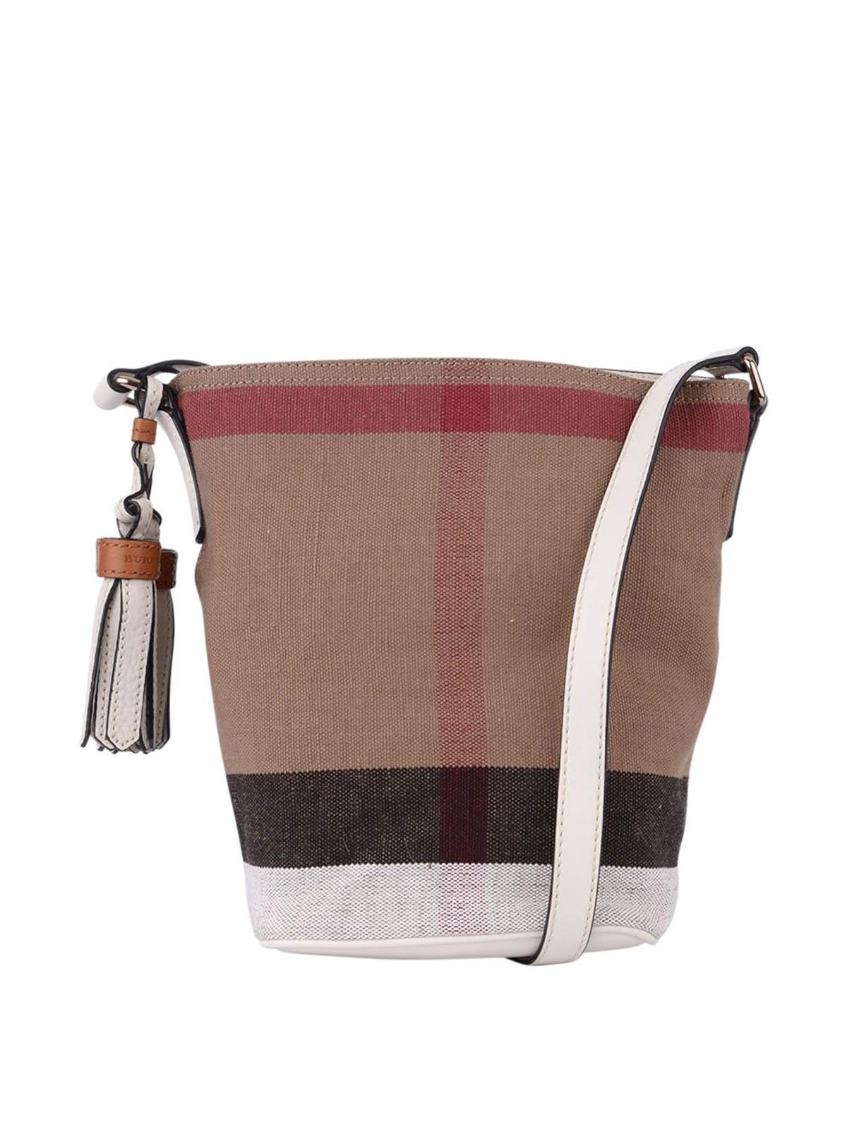 63b60d722342 Burberry Petite Ashby Canvas Bucket
