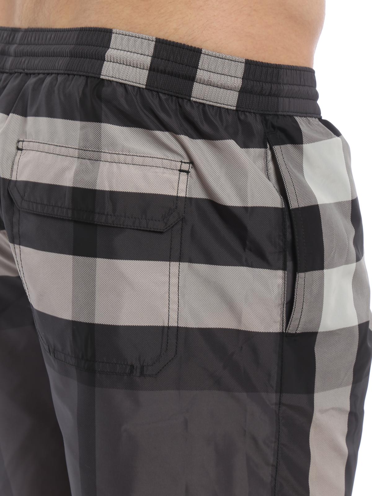 2ee950c73d Burberry - Check pattern swimming shorts - Swim shorts & swimming ...