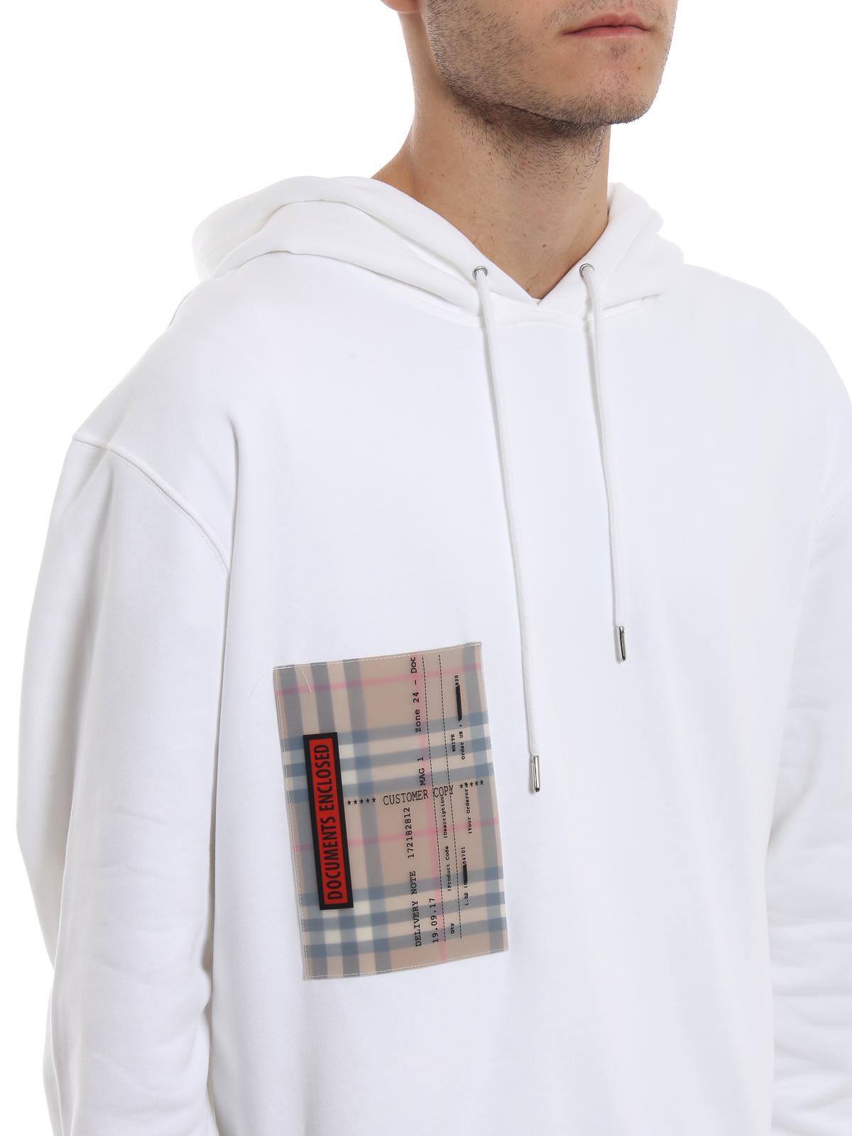 Sonderverkäufe 100% Zufriedenheitsgarantie Schnäppchen für Mode Burberry - Sweatshirt - Weiß - Sweatshirts und Pullover ...