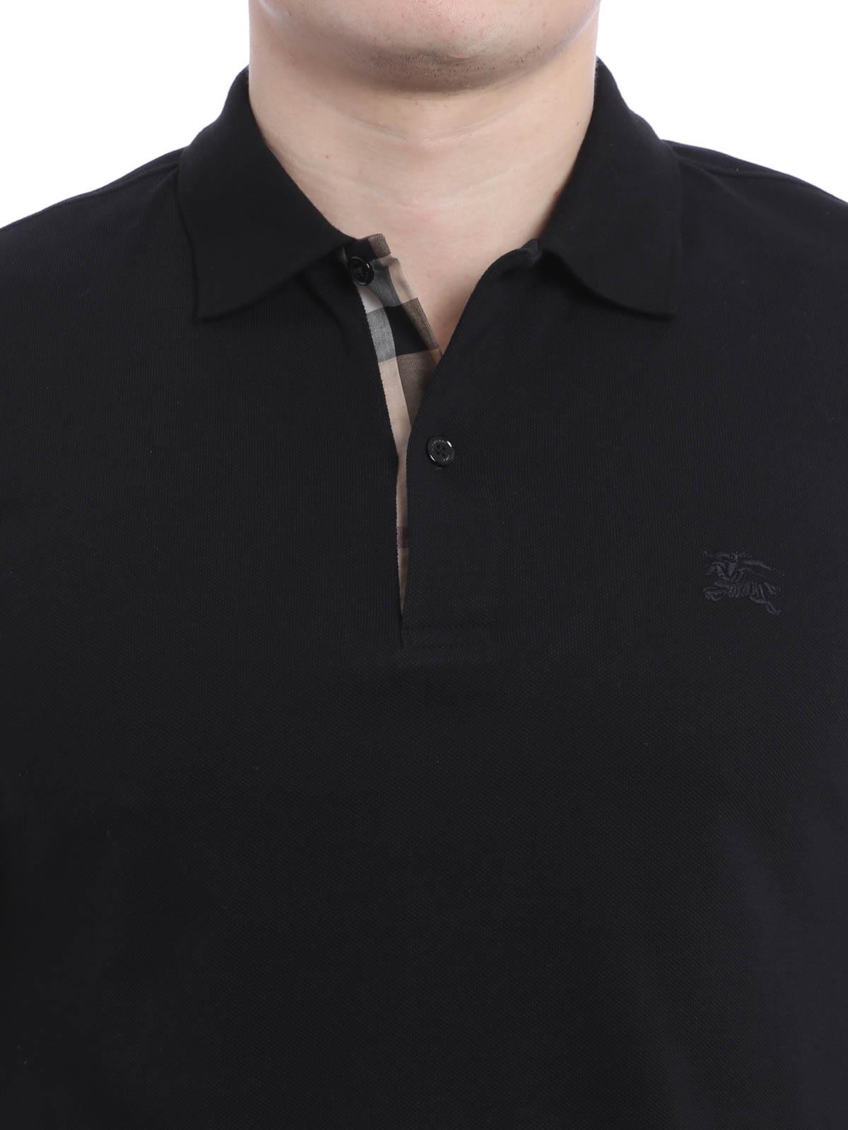 720e1ce9 Burberry - Cotton pique polo shirt - polo shirts - 4010695   iKRIX.com