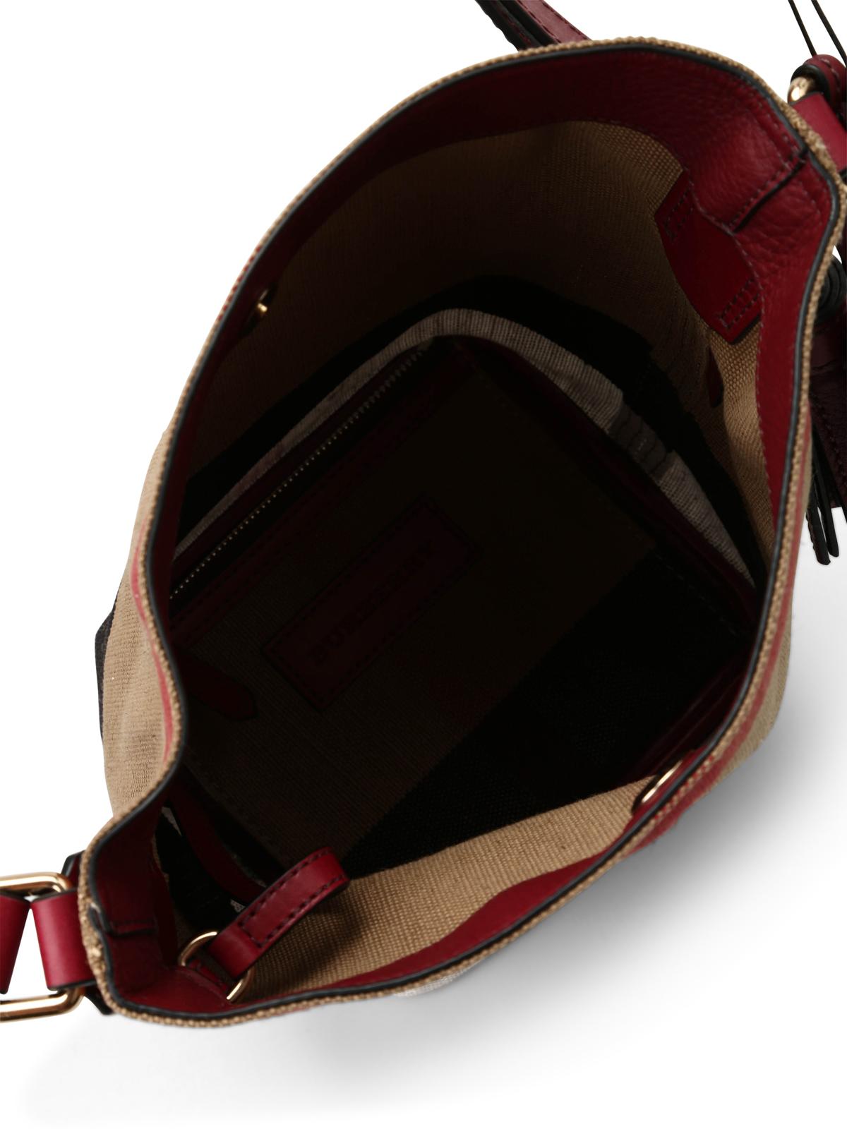 0c938fbd5b16 Burberry - Mini Ashby bucket bag - Bucket bags - 4020485 1