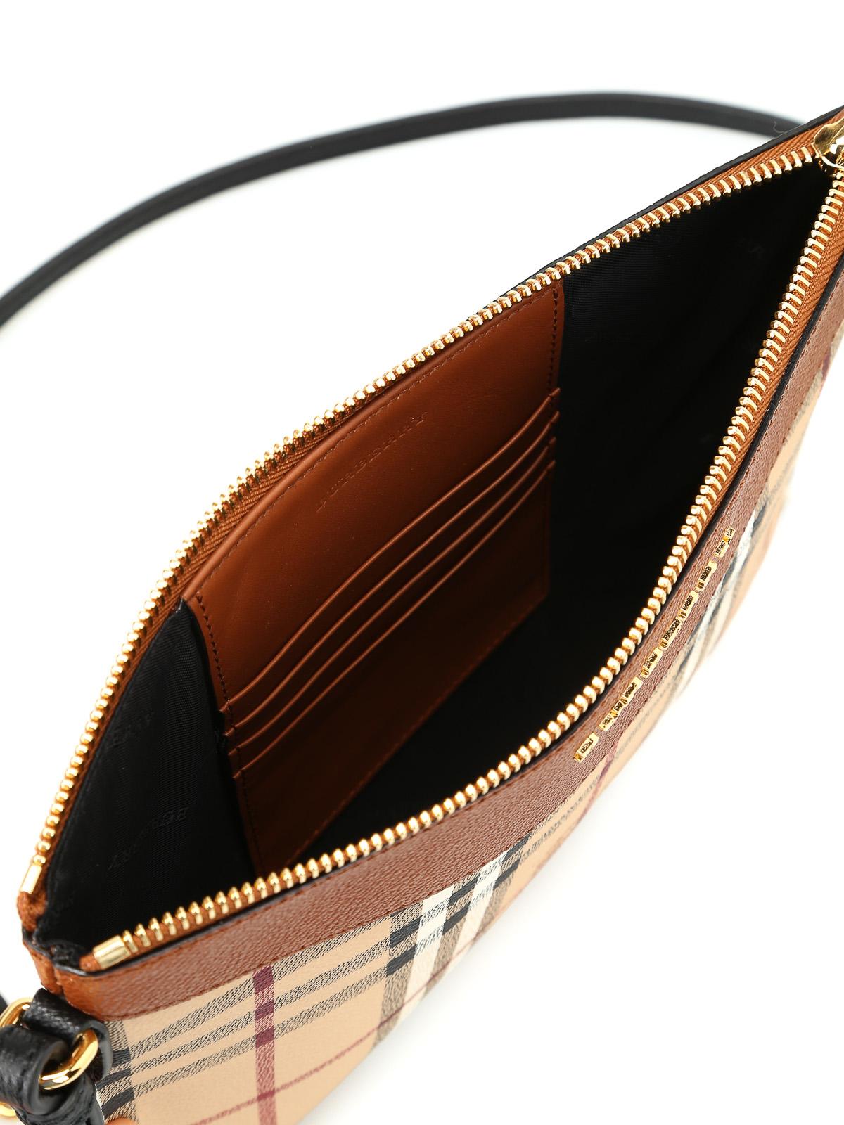 f31e48f80f BURBERRY buy online Tartan Haymarket check print pouch. BURBERRY: cross  body bags ...