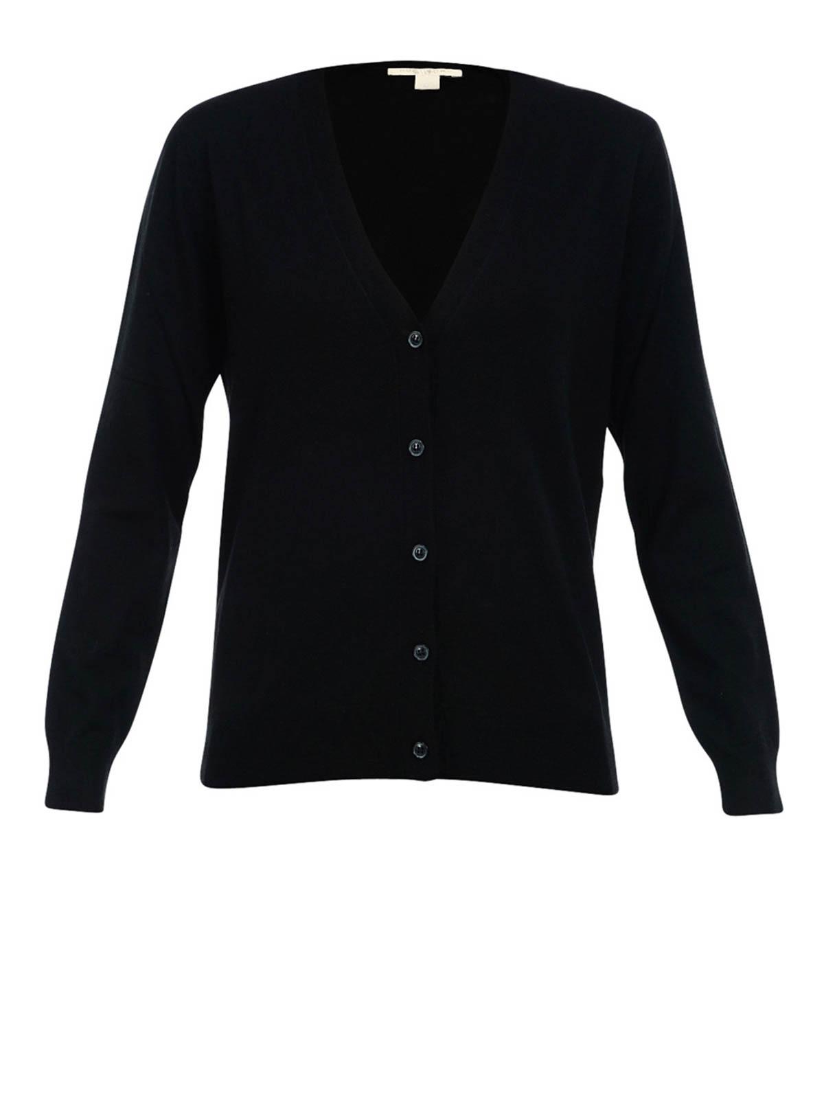 fd214345e92bf Burberry - Cardigan Noir Pour Femme - Cardigans - 40038411   iKRIX.com