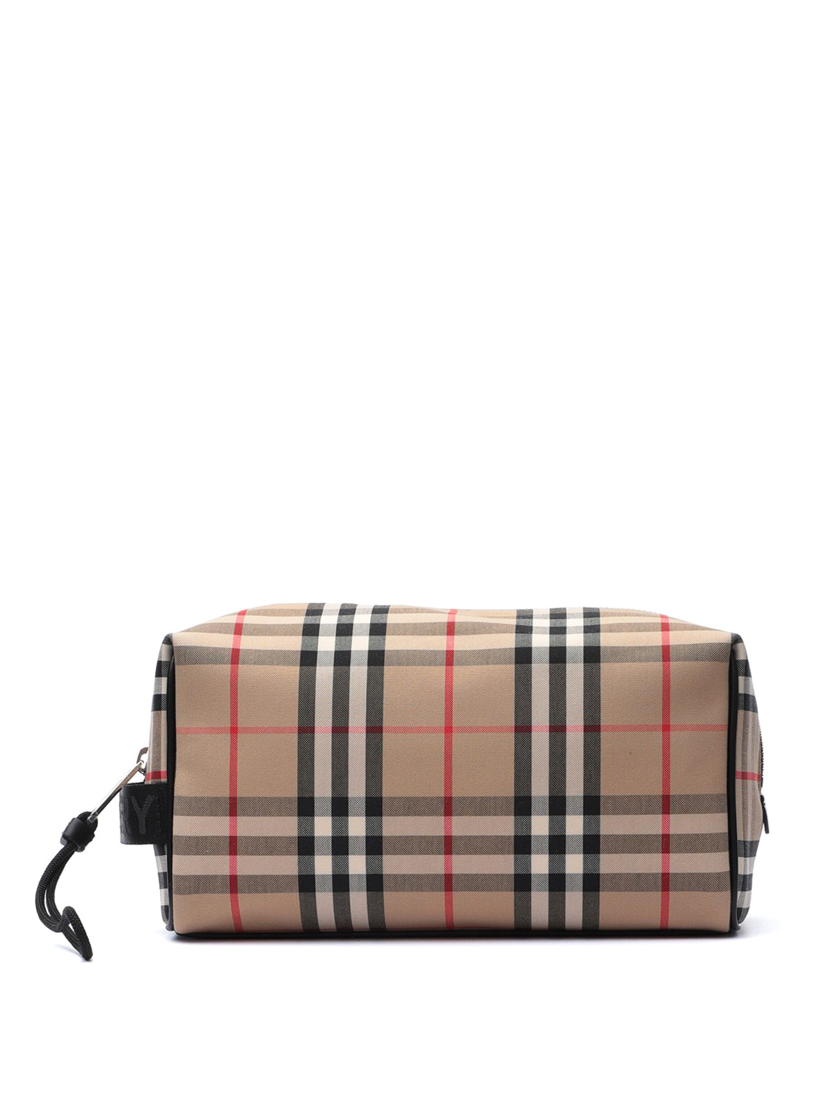 Burberry Vintage Check Beauty Case In Beige