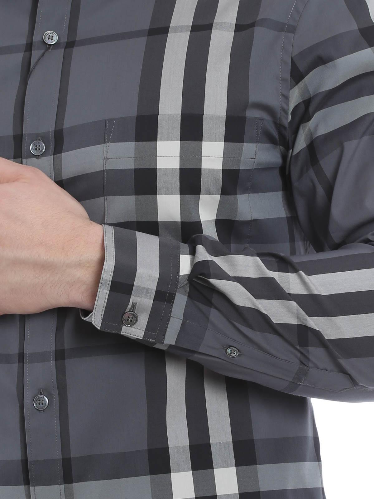19ac1b7f996 iKRIX BURBERRY  Checked Nelson shirt · shirts shop online ...