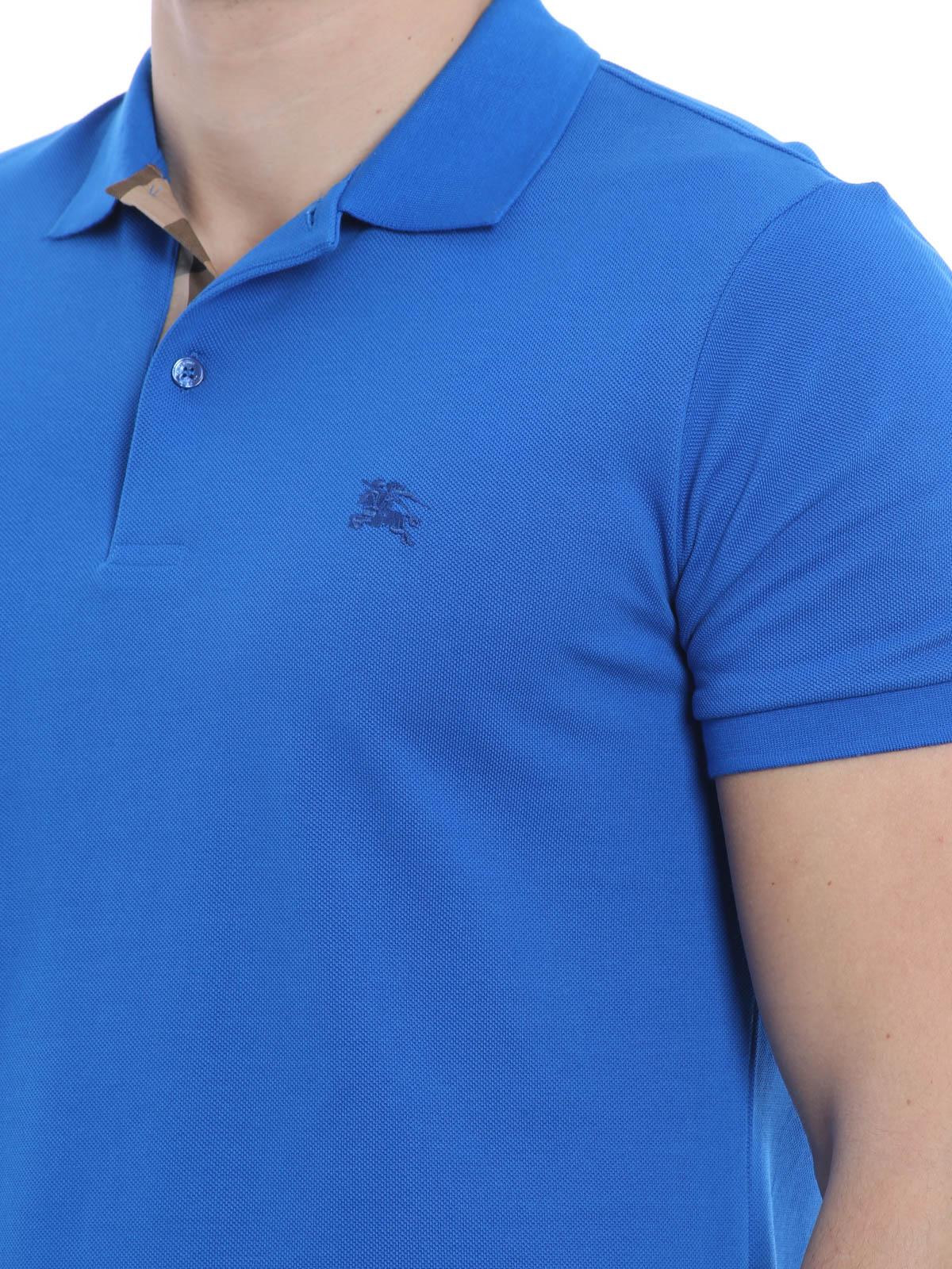 Burberry Cotton Pique Polo Shirt Polo Shirts 3974314 Ikrix