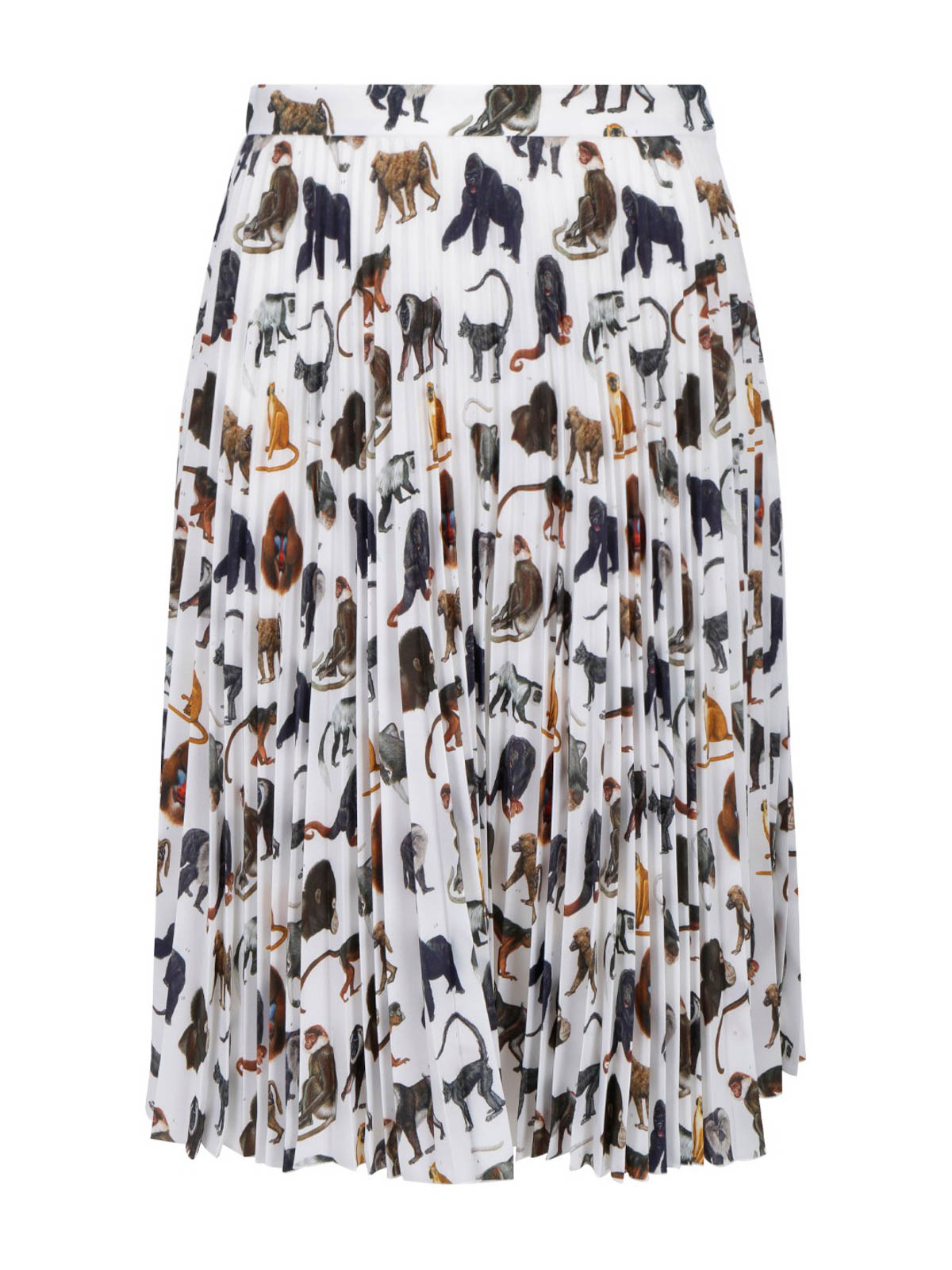 Burberry MONKEY PRINTED SKIRT