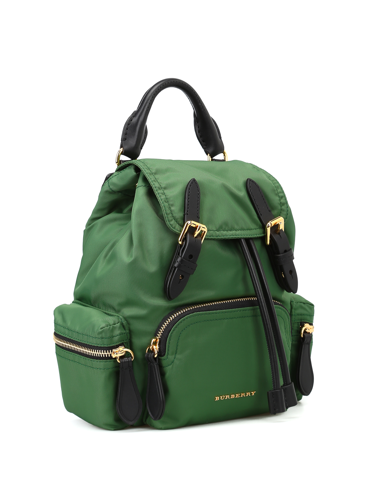 Burberry - The Rucksack green nylon small backpack - backpacks - 4075971 69a5c1f27124d