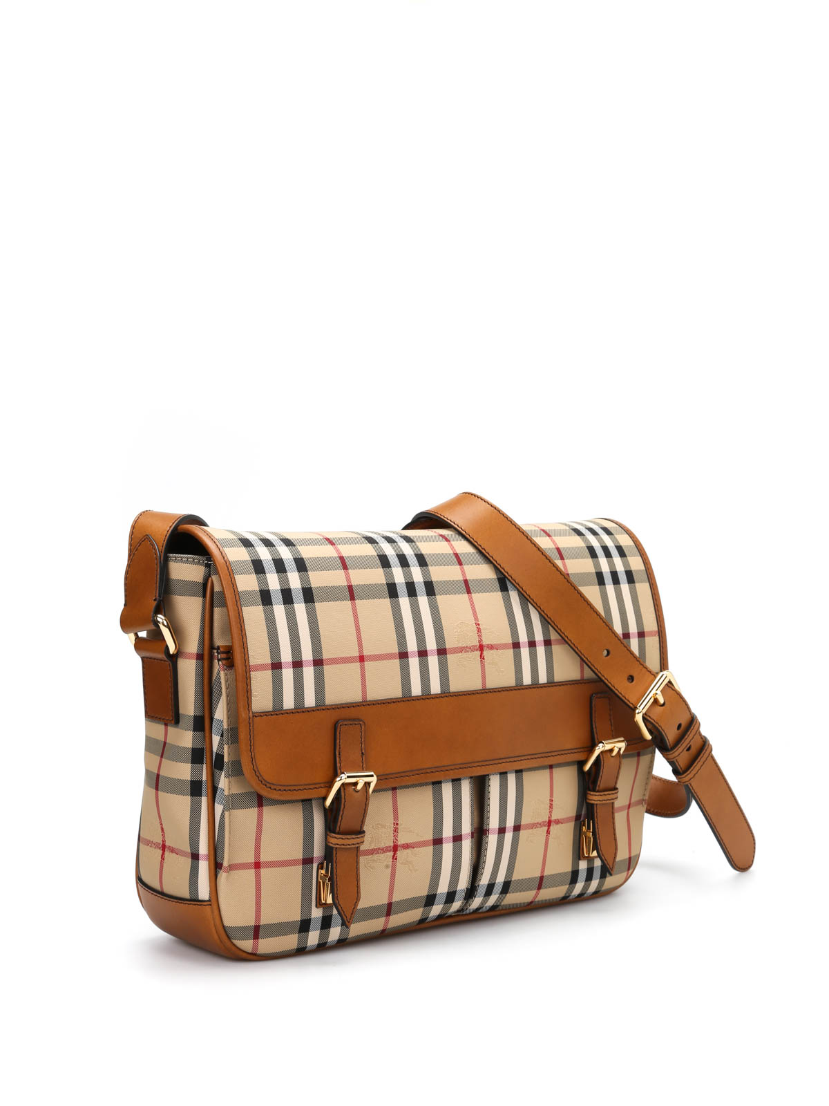 Burberry - Horseferry check Grover messenger - cross body