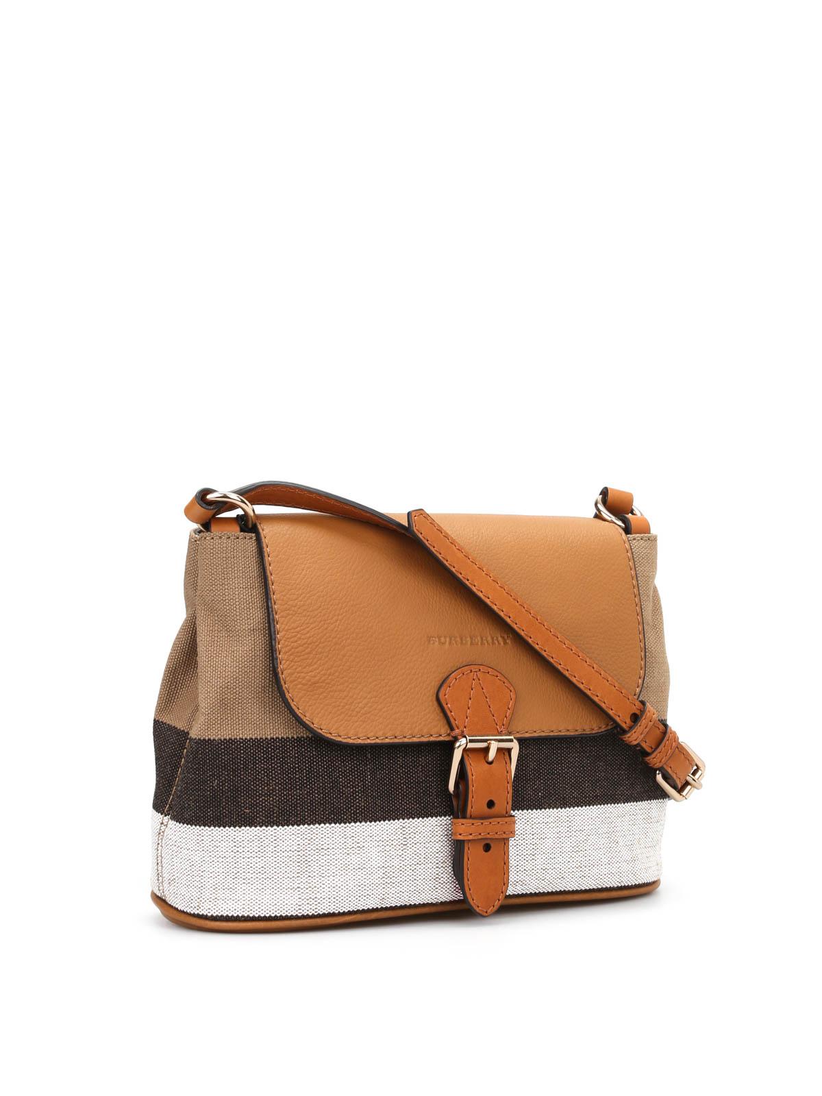 16ce864ff5d2 Burberry - Small Gowan canvas bag - cross body bags - 3992187 1