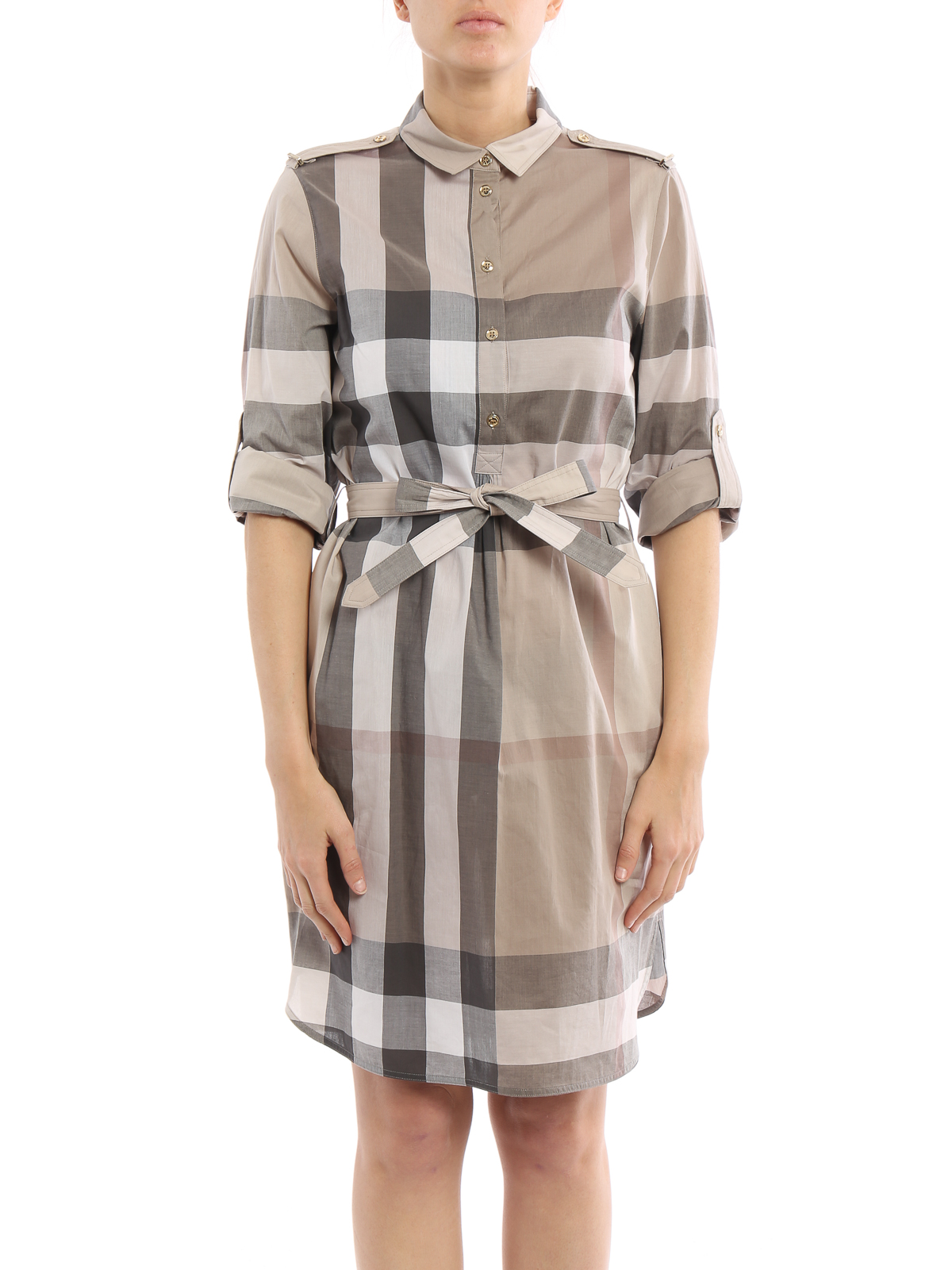 4f71e88883c5 Burberry - Kelsy shirt dress - short dresses - 4025287 1004