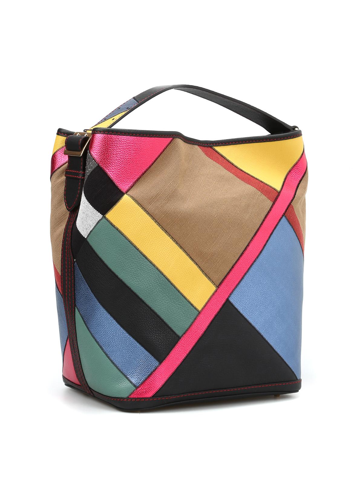 b32bdae6dd6 Burberry - Ashby multicolour hobo bag - shoulder bags - 40418641