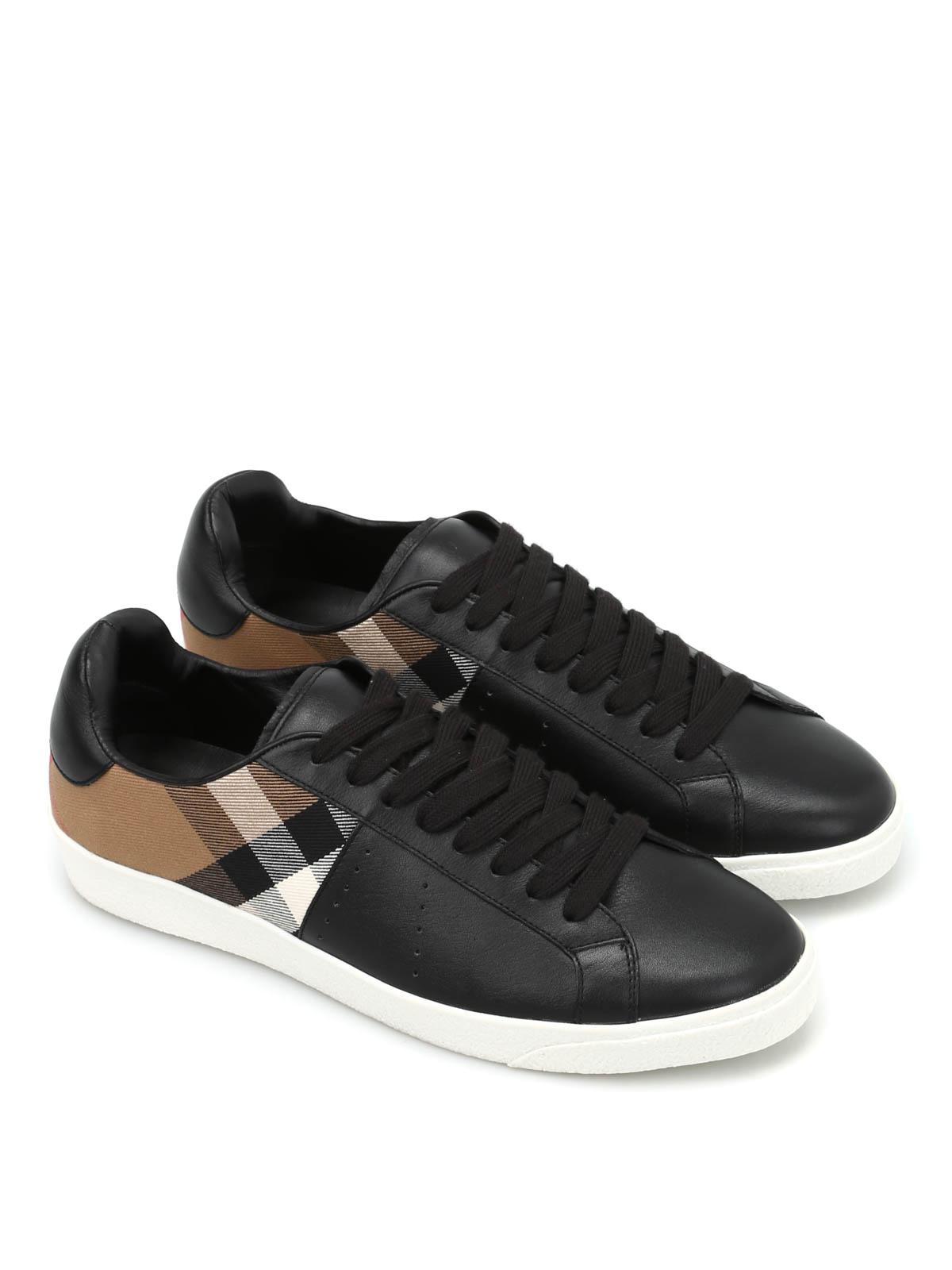 9327edff903 Burberry - Baskets Noir Pour Homme - Chaussures de sport - 3941709