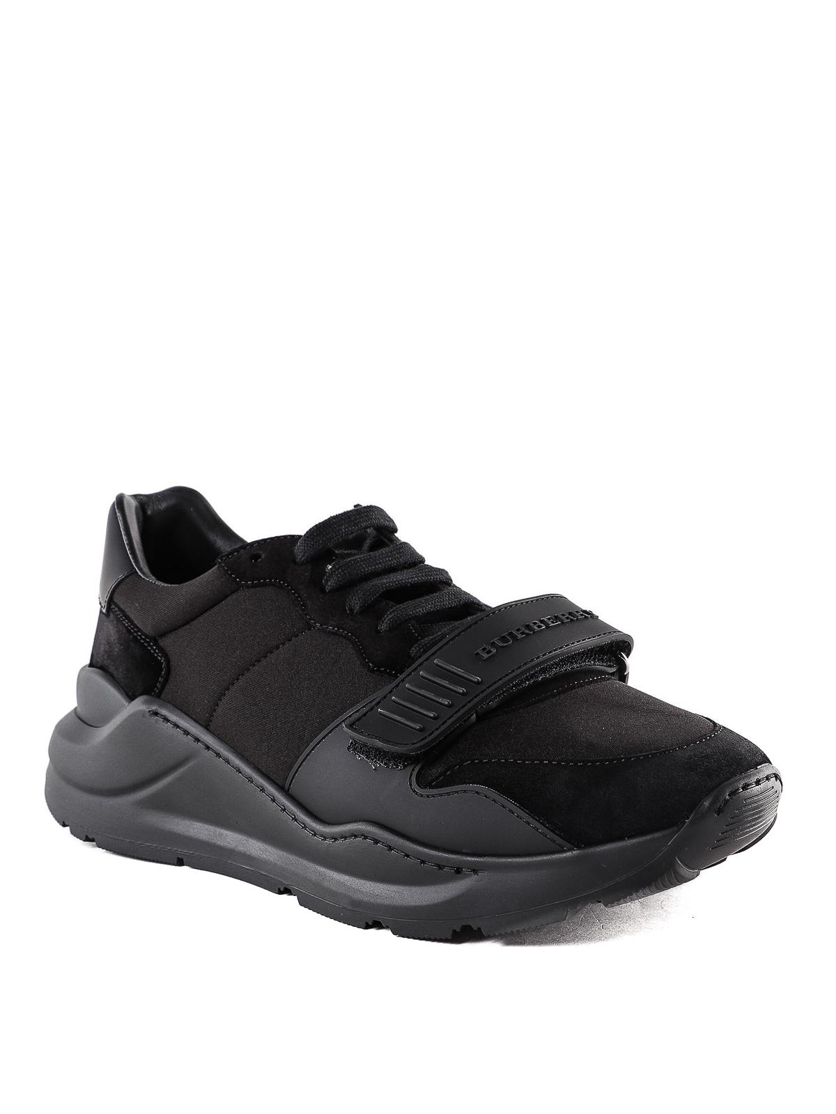 Burberry - Regis black sneakers