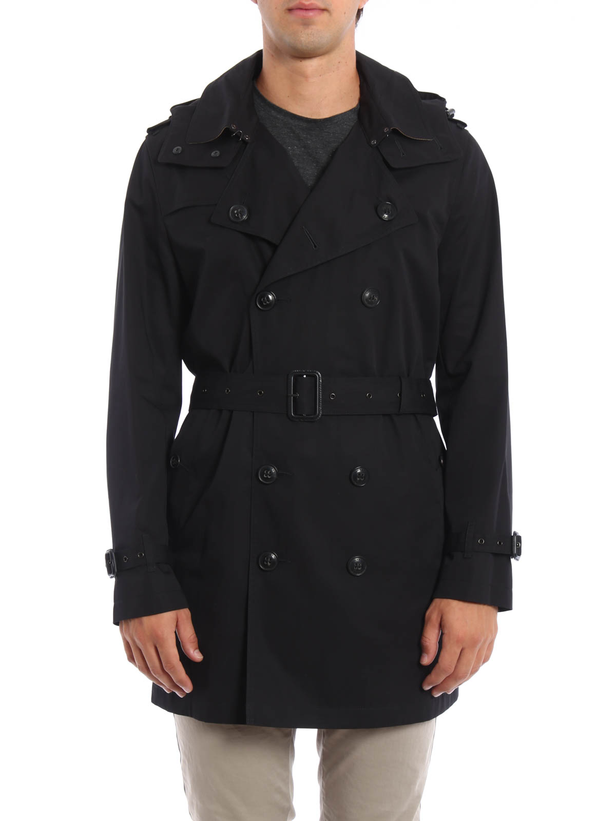 Homme Burberry 40327011 Pour Trenchs Trench Coat Noir IYUSxqIrw f1ebd50f3a1