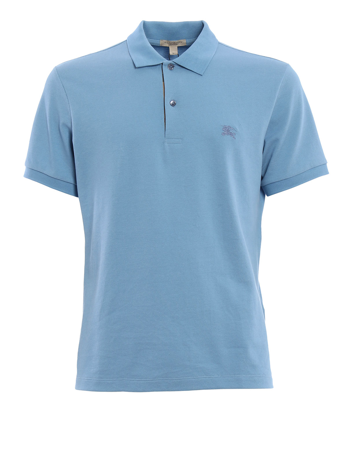 Cotton Pique Polo By Burberry Polo Shirts Ikrix