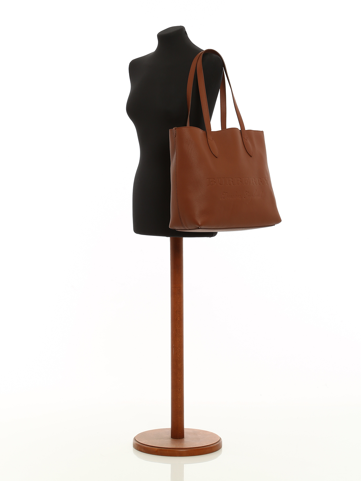 4a50823a2b43 Burberry - Remington brown leather large tote - totes bags - 4060092