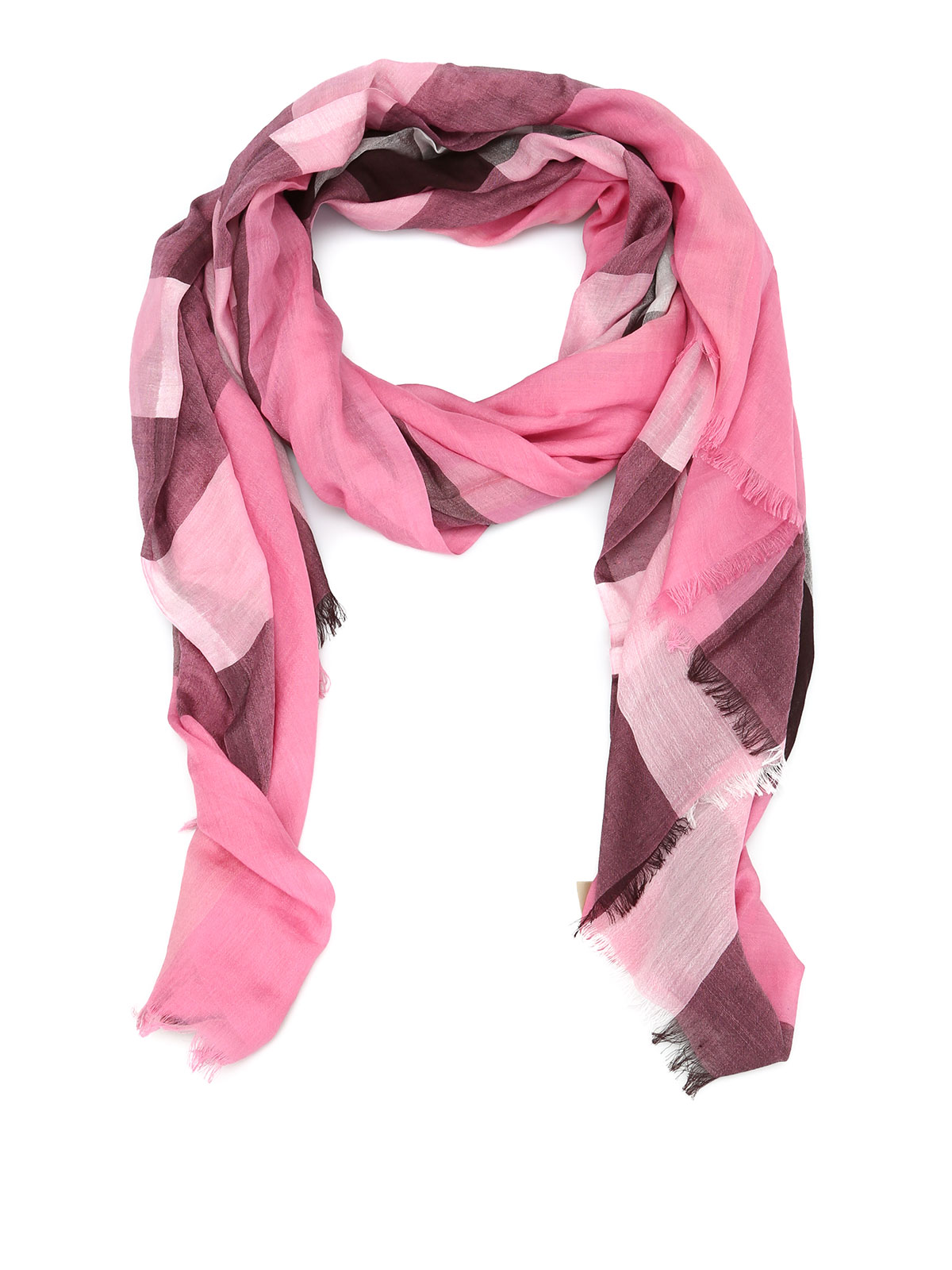 check patterned scarf by burberry scarves ikrix