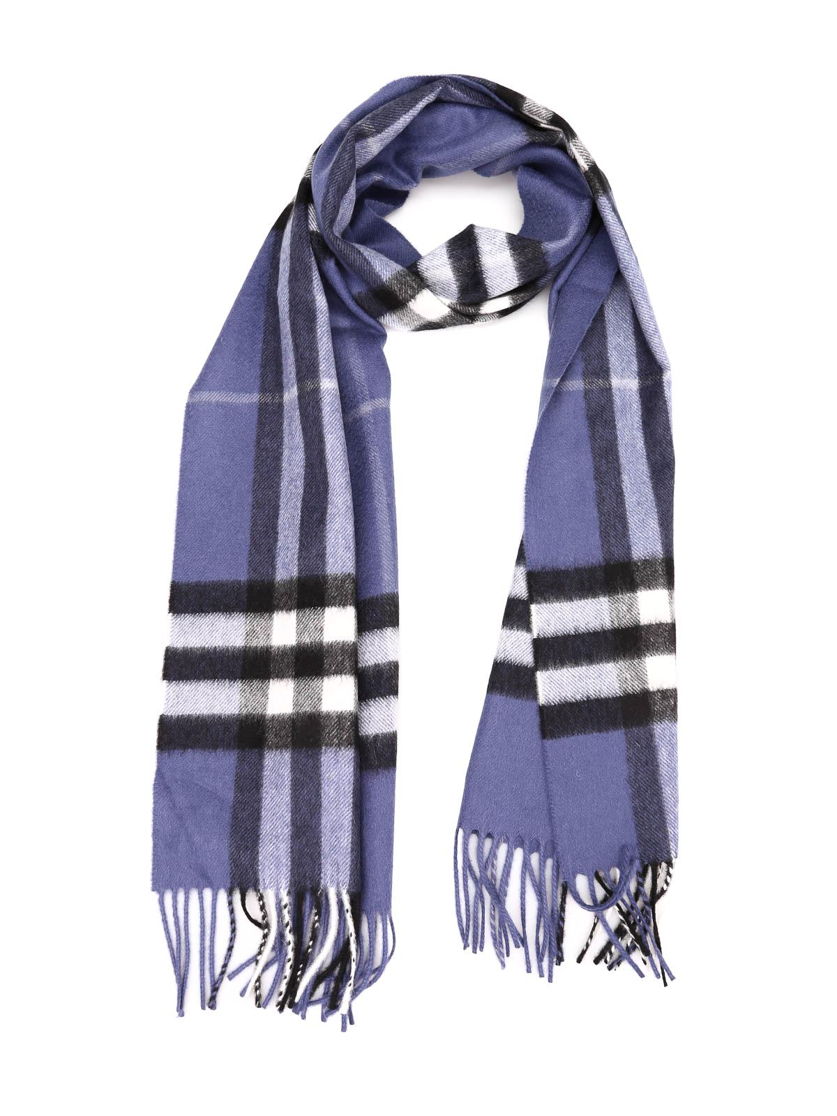 Burberry Schal Fur Damen Blau Schals 39941281 Gianticon