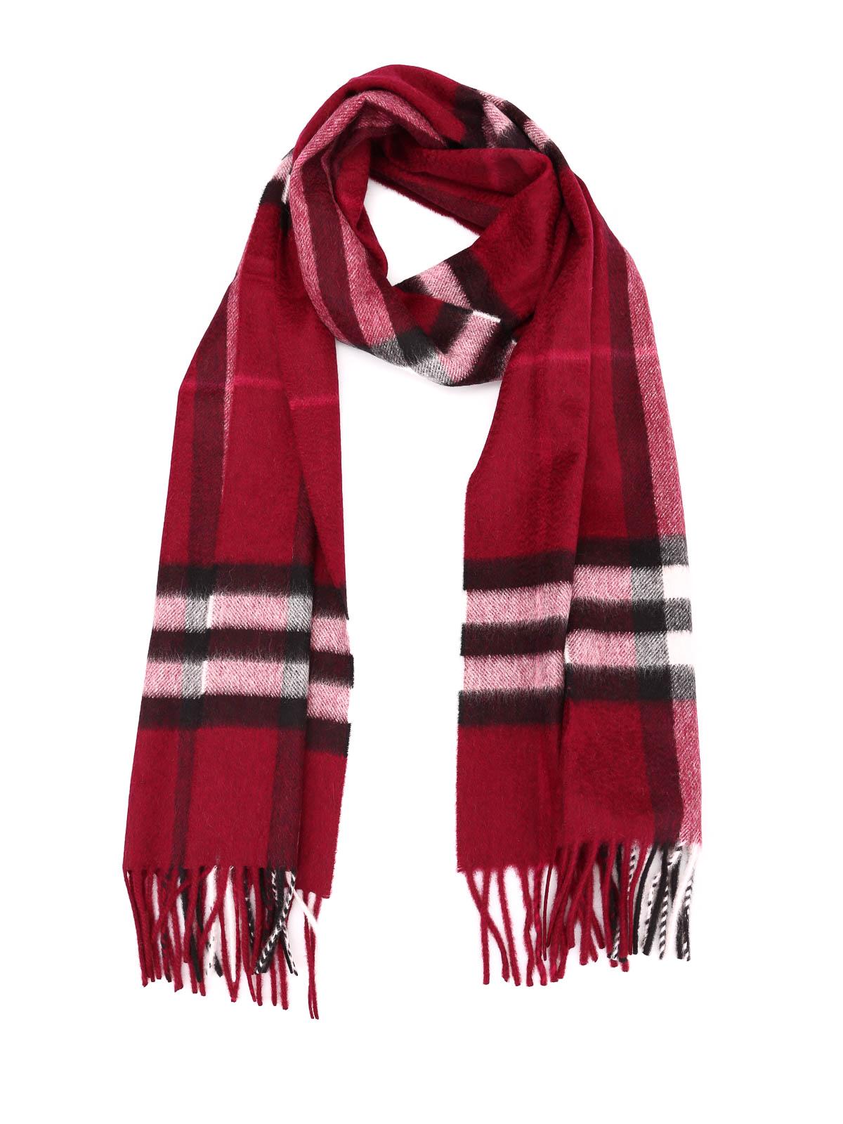 Burberry Schal Fur Damen Dunkelrot Schals 3994153 Ikrix Com