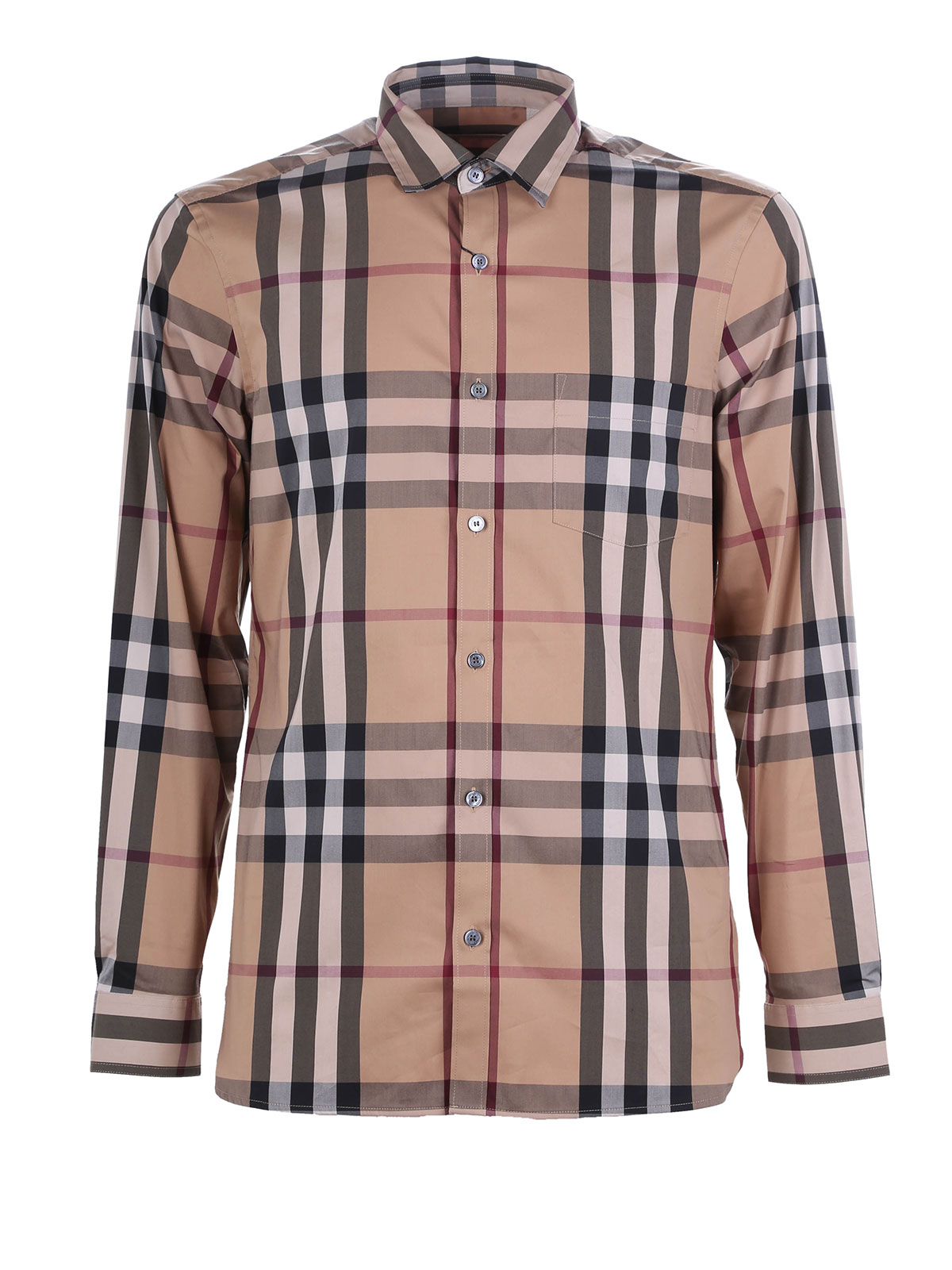 Checked nelson shirt by burberry shirts ikrix for Where are burberry shirts made
