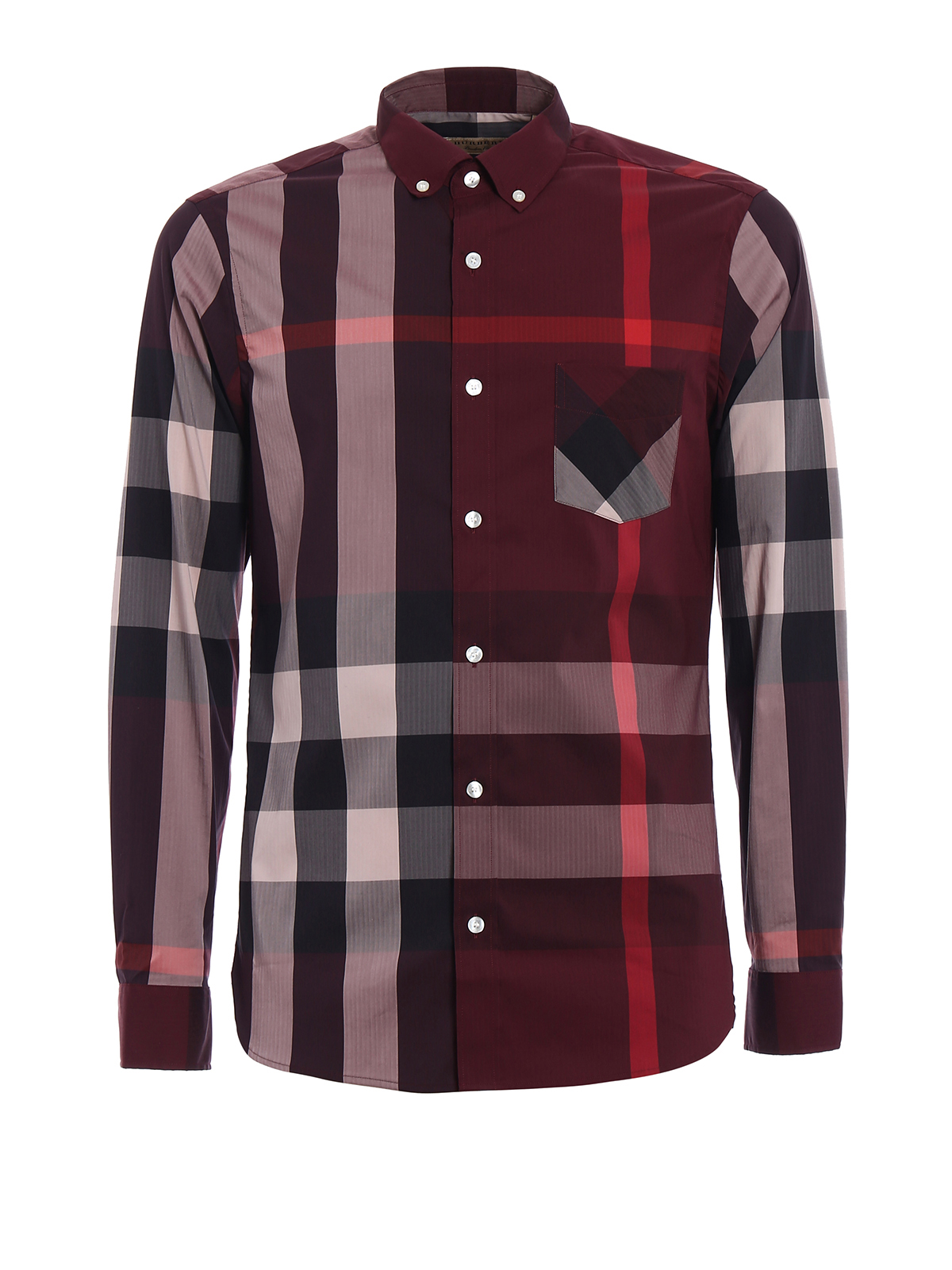 Thornaby check shirt by burberry shirts ikrix for Where are burberry shirts made