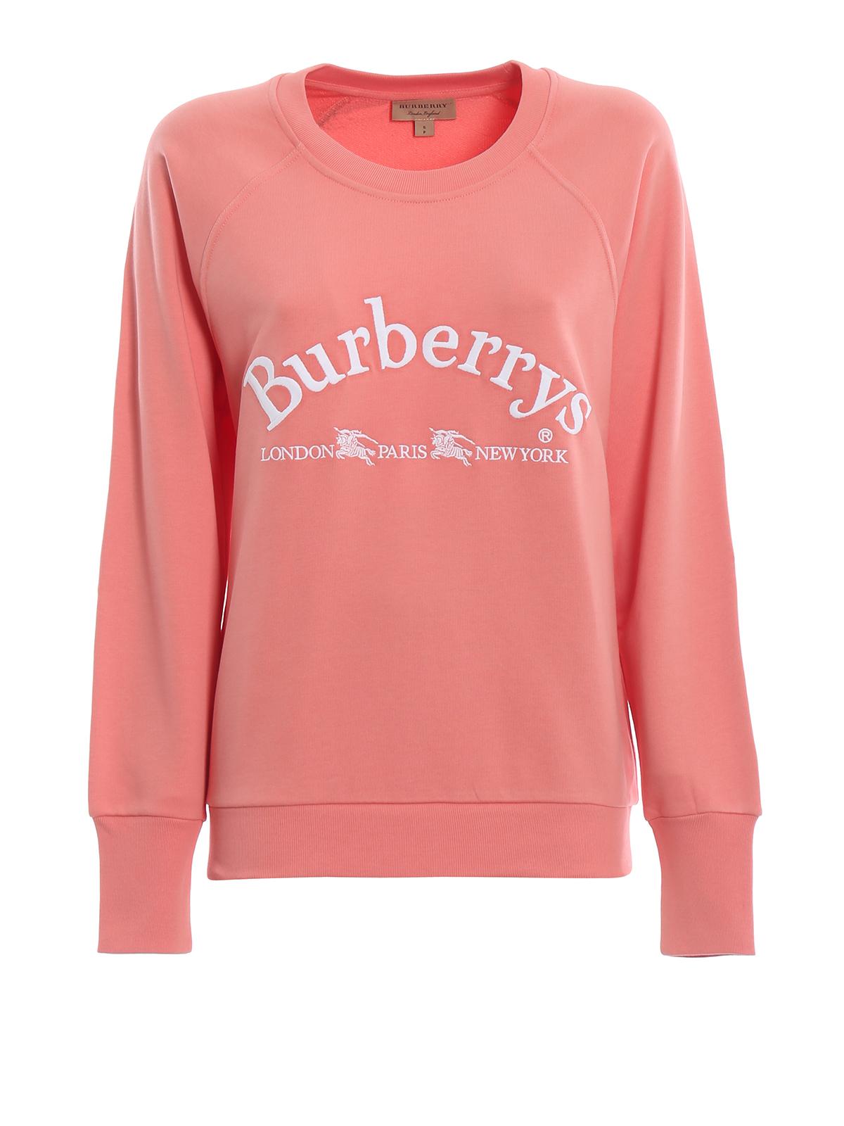 burberry pink sweatshirt