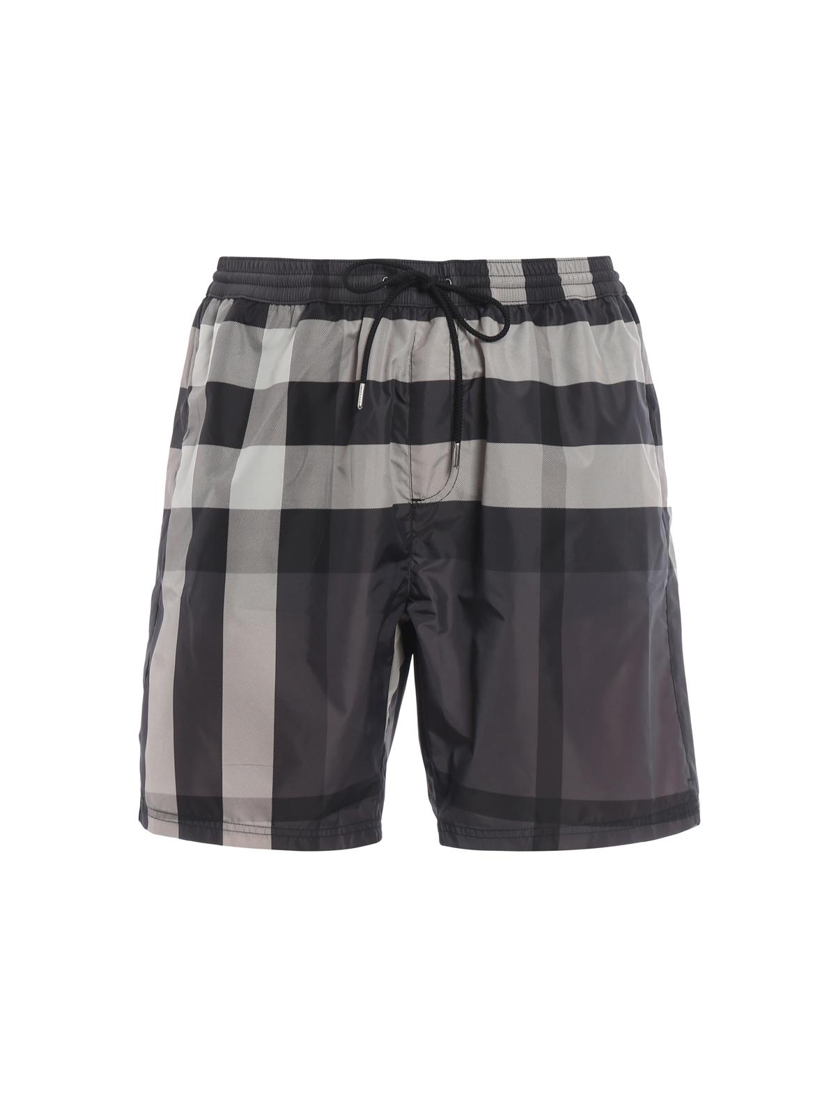 77ed5acca0 BURBERRY: Swim shorts & swimming trunks - Check pattern swimming shorts