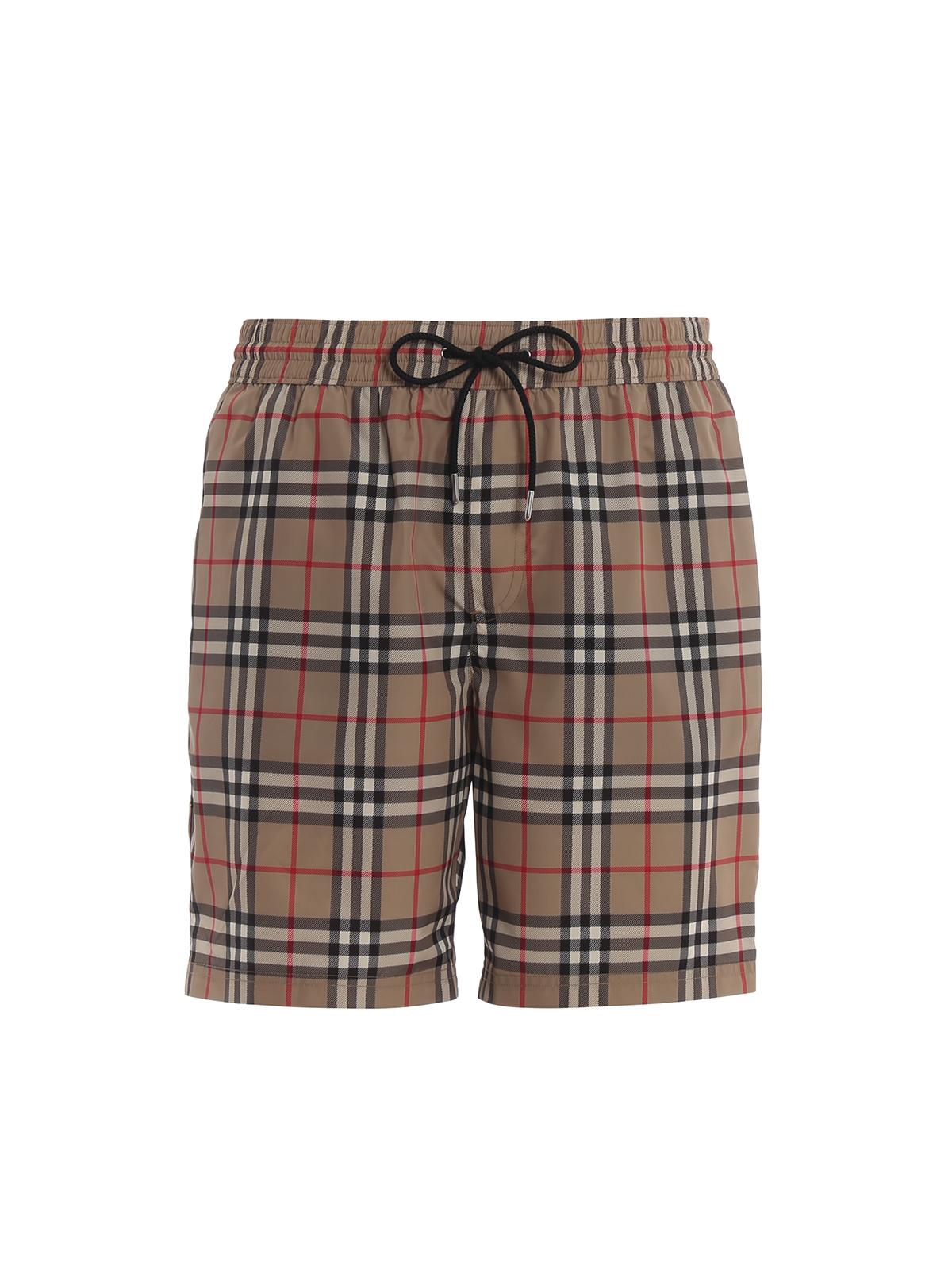 76bbbb305c BURBERRY: Swim shorts & swimming trunks - Guildes archive Check swim shorts