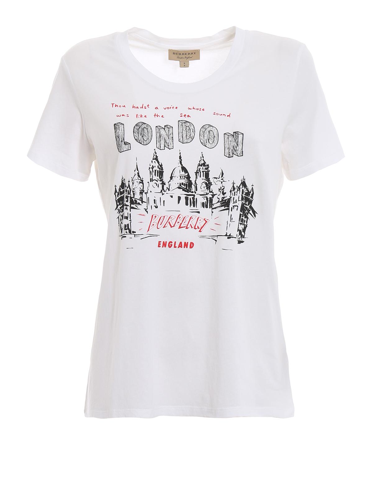Burberry T Shirt London Icons T shirts 4065016
