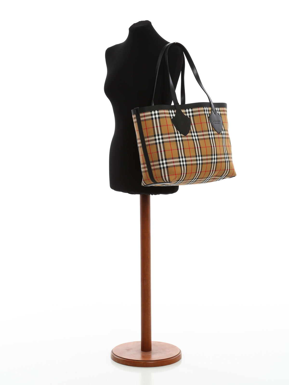 Burberry - The Medium Giant cotton reversible tote - totes bags ... f57a430d00