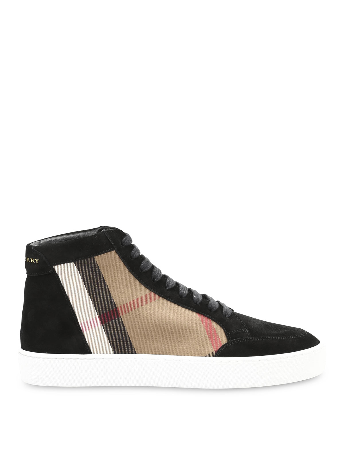 a7b485868cd8 Burberry - Baskets Noir Pour Femme - Chaussures de sport - 4024919 ...