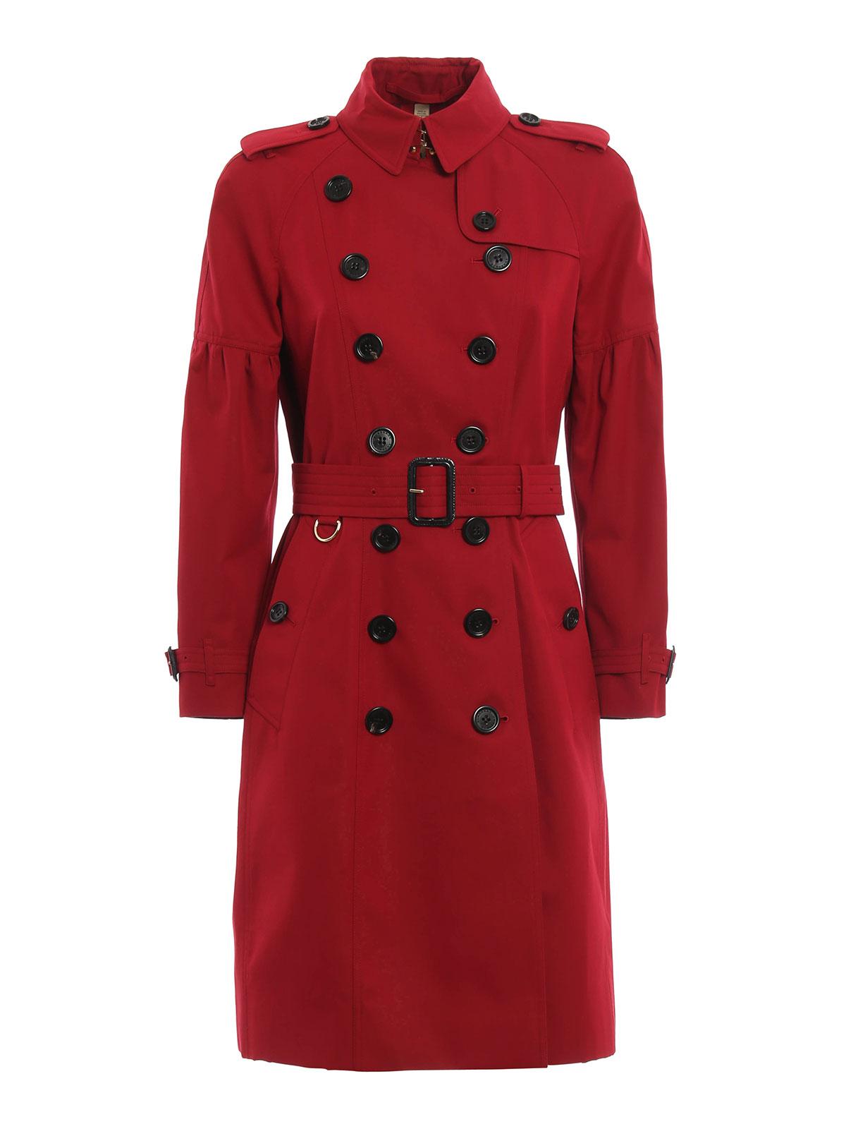 f86dceff5cb71 Burberry - Gabardina Roja Para Mujer - gabardinas - 4043804