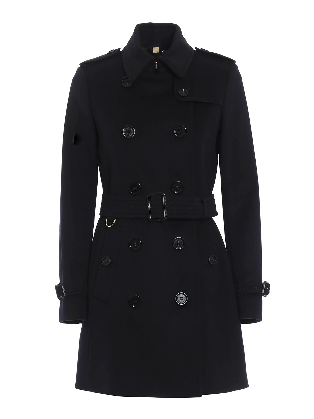 burberry kensington wool trench coat trench coats 4019203 1003. Black Bedroom Furniture Sets. Home Design Ideas